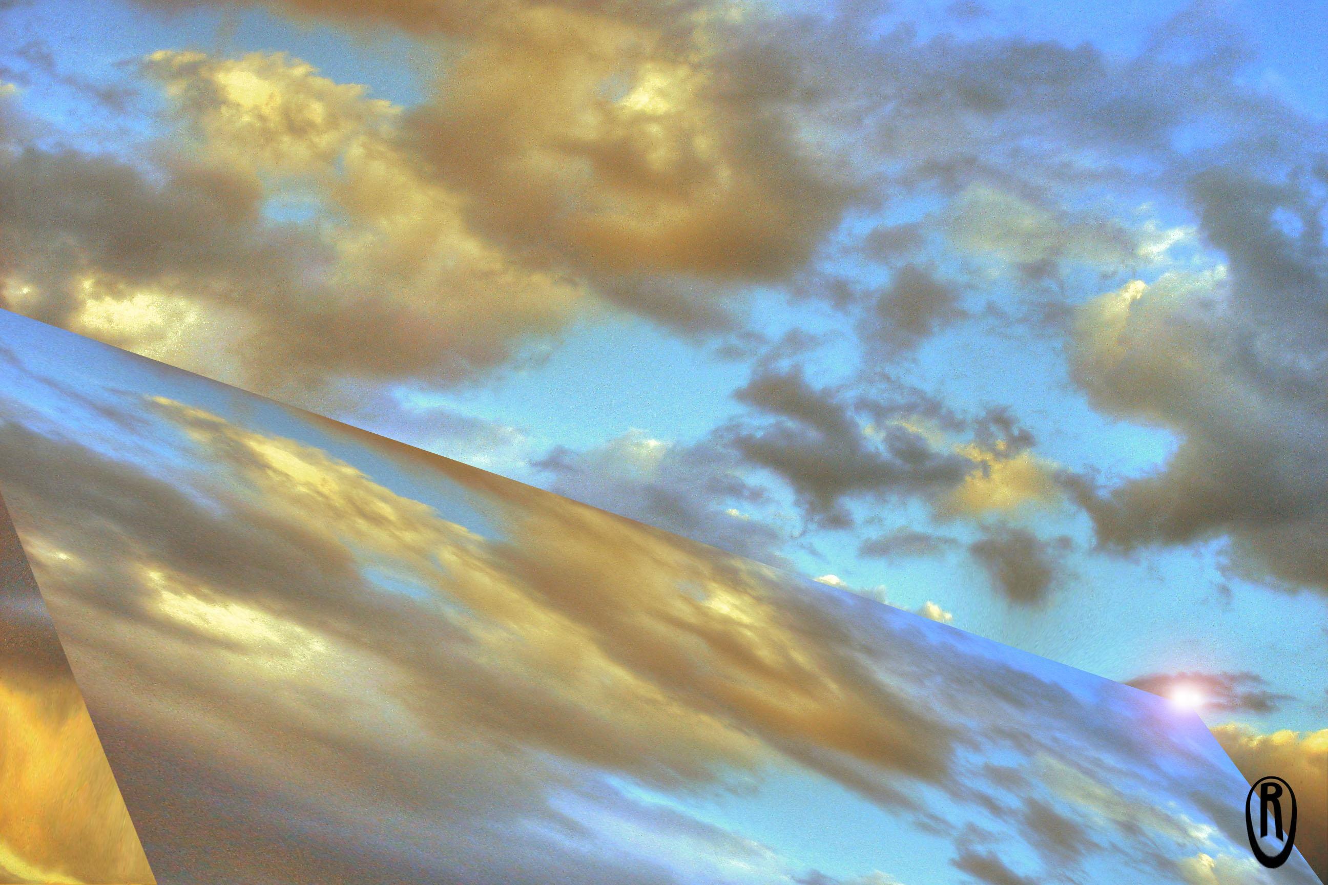 Foto playa Baños del Carmen. Espejo del cielo