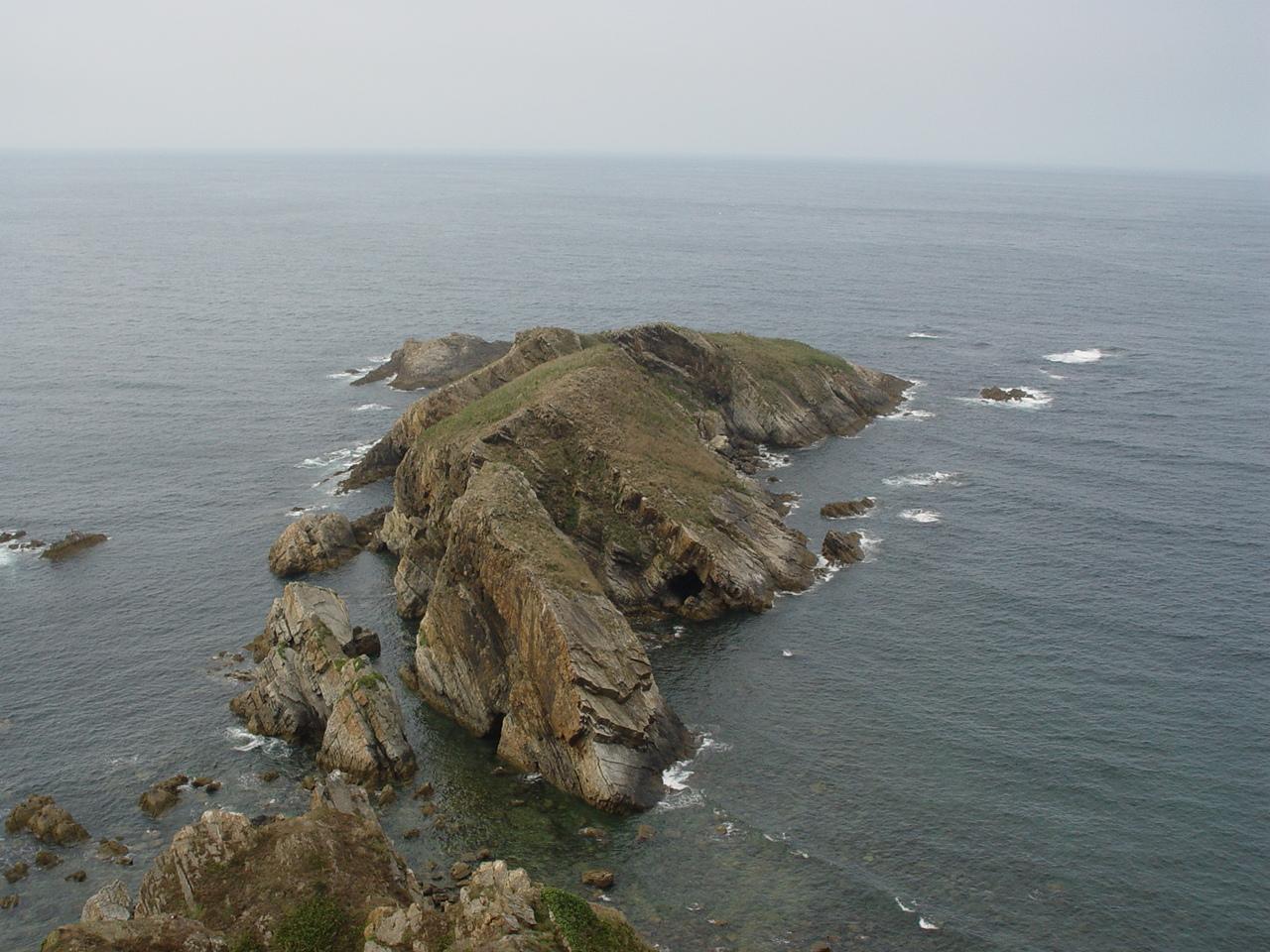 Foto playa A Figueira. Isla Isabel, Coaña - Asturias