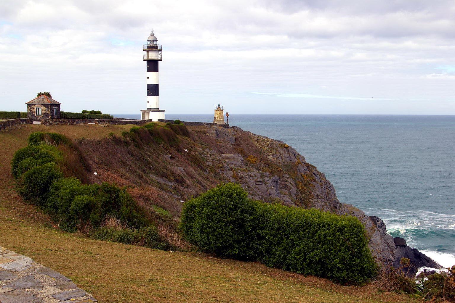 Foto playa Arnelles. Cabo de San Agustin, Faro, Ortiguera, Coaña, Asturias