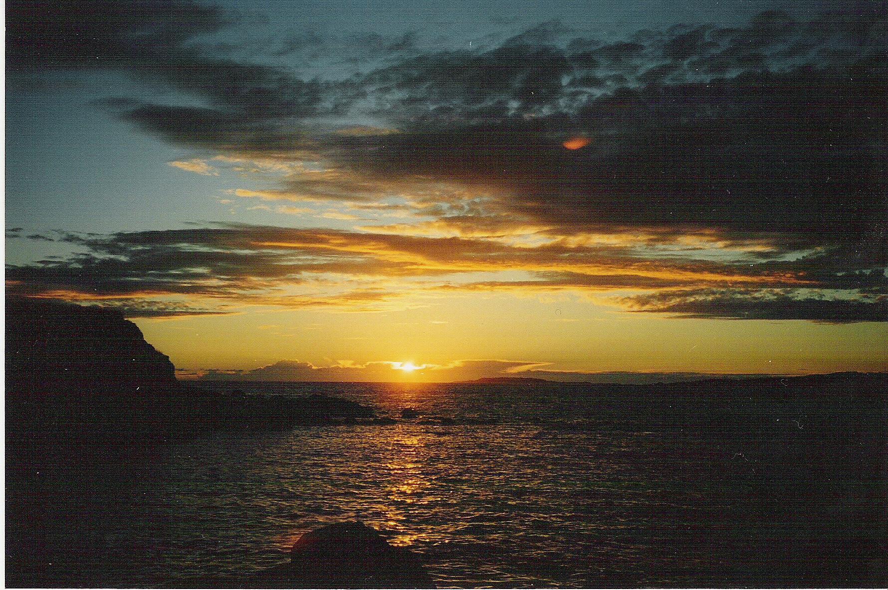 Foto playa Foxos / Ortiguera. playa de La Lanzada (Galicia)
