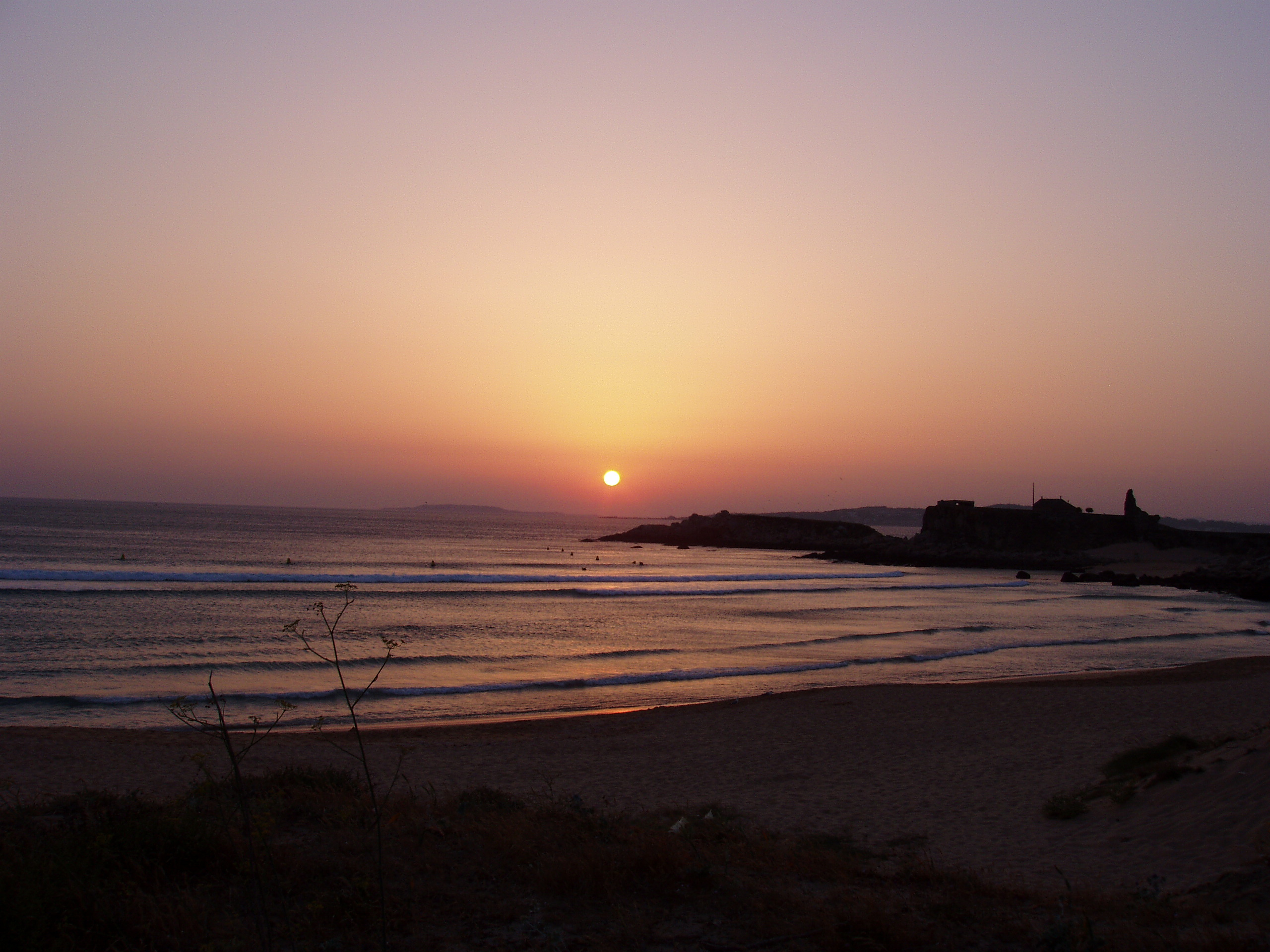 Foto playa Foxos / Ortiguera. Sunset lanzada beach III 2006