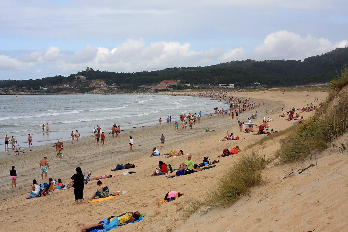 Foto playa Foxos / Ortiguera. La Lanzada