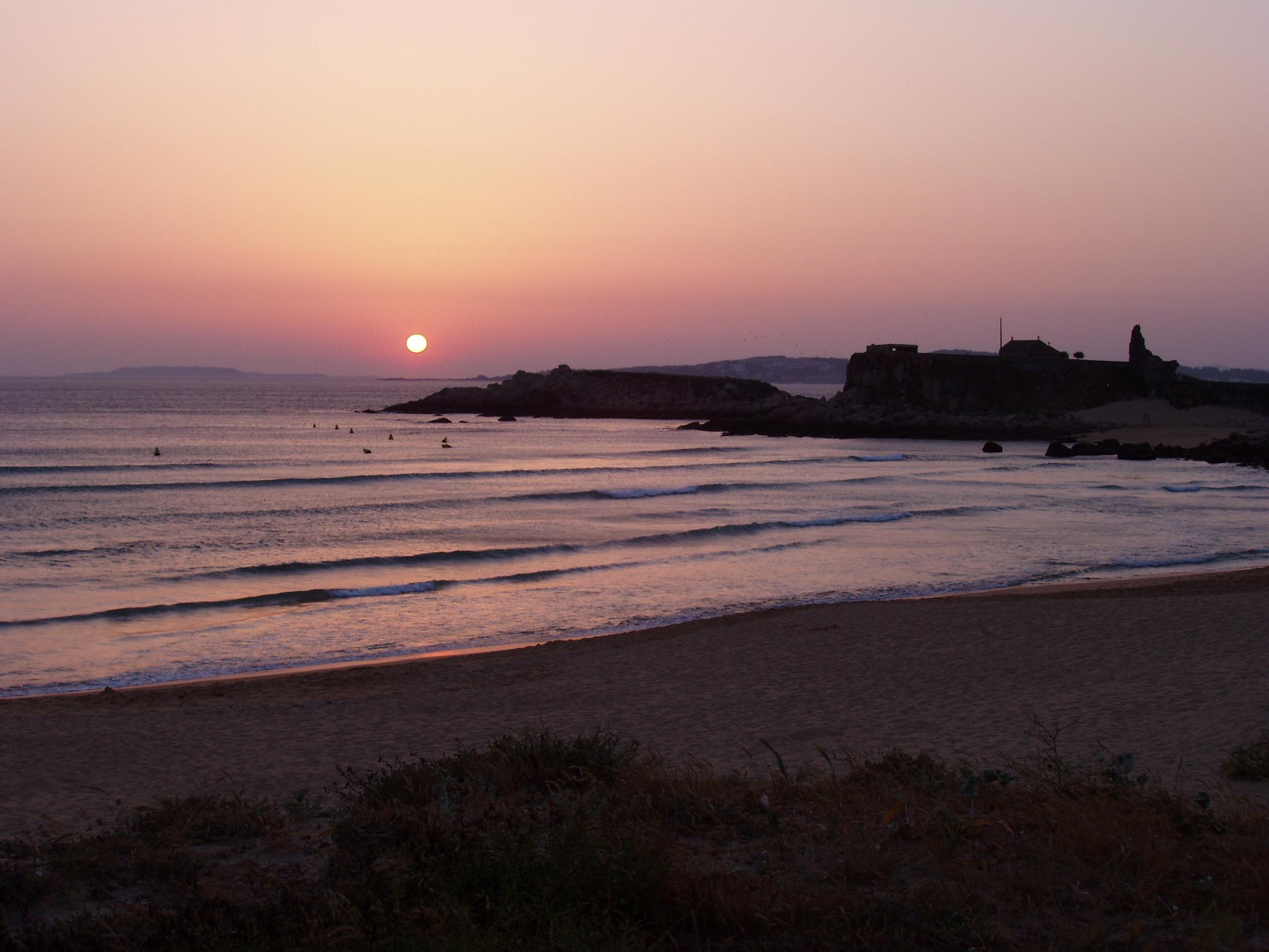 Foto playa Foxos / Ortiguera. Sunset lanzada beach I 2006
