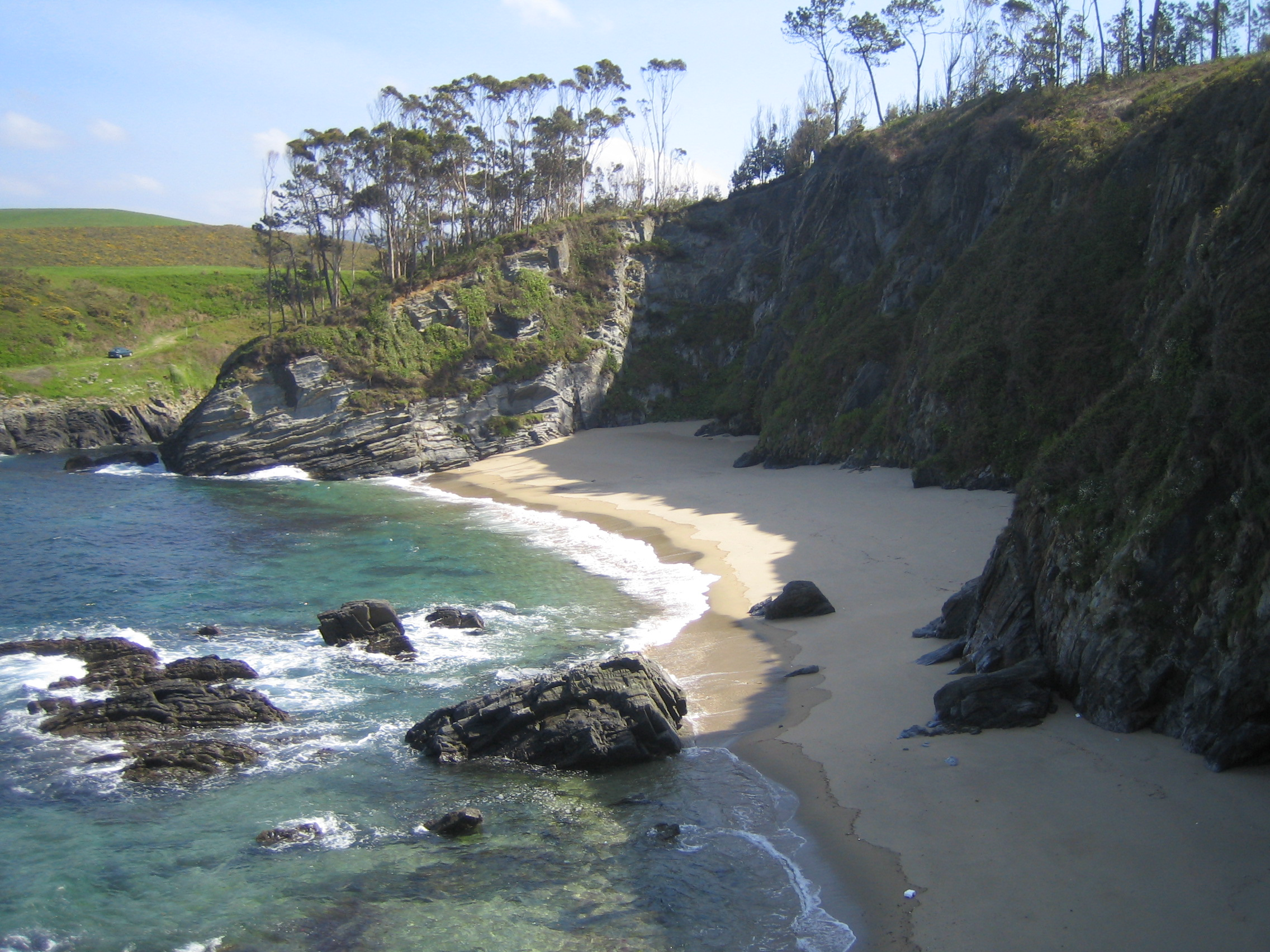 Foto playa Fabal. cala fabal