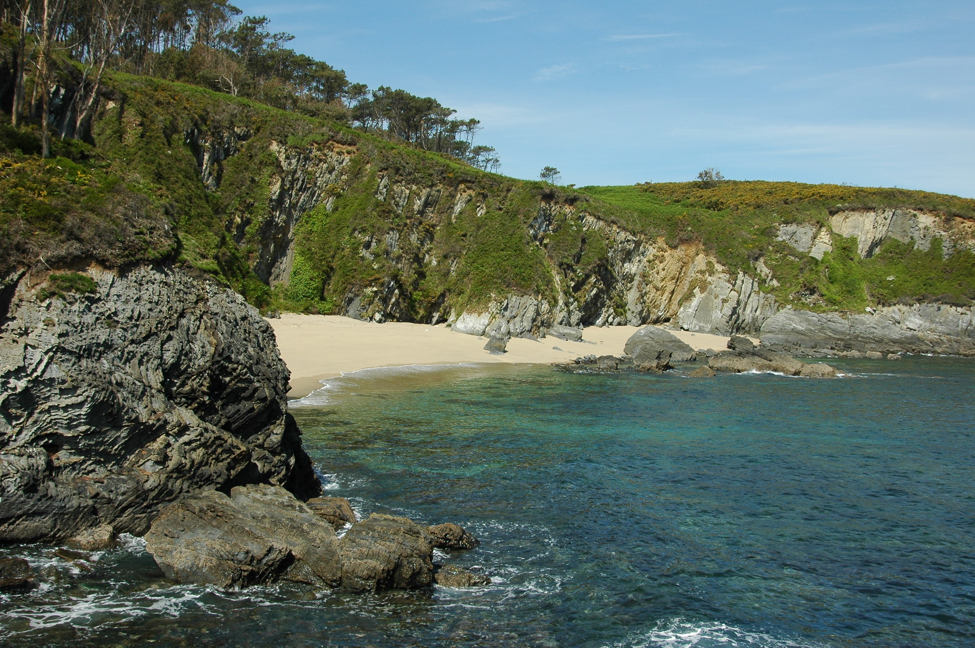 Foto playa Fabal. Andés, Playa La Fabal