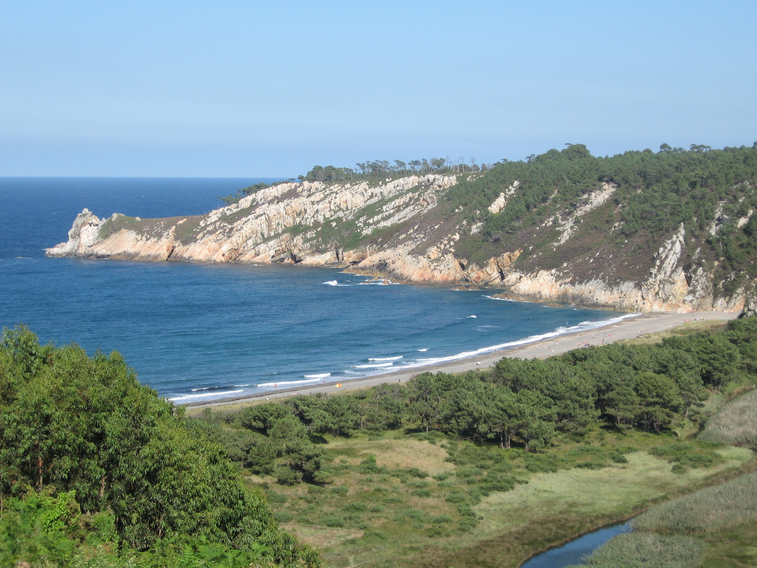 Foto playa Barayo / La Vega. Barayo