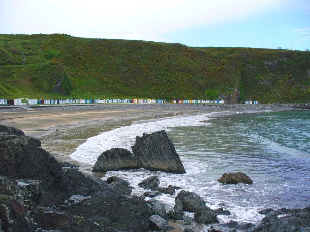 Foto playa Castiel. Playa segunda más amplia