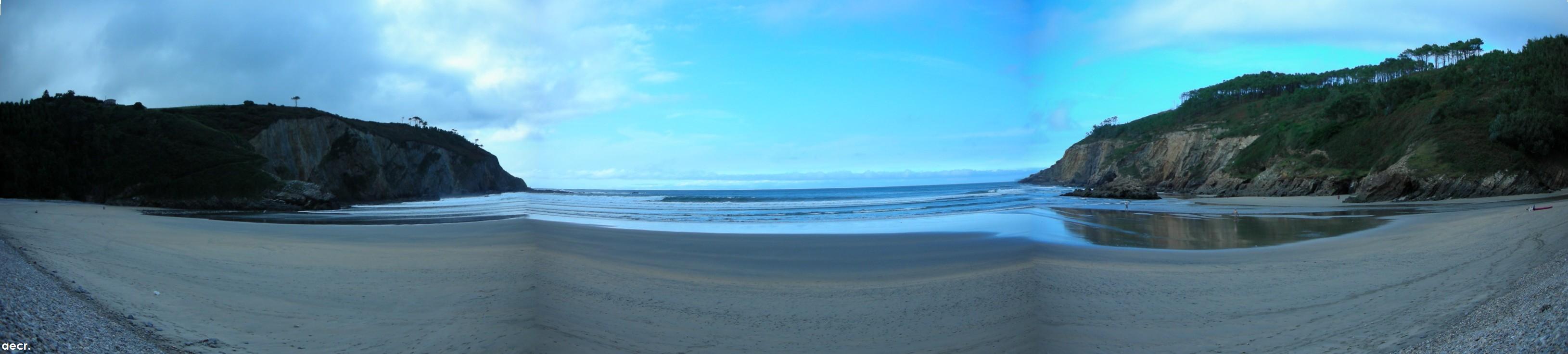 Foto playa La Herbosa. Playa de la Cueva o de la Arena.