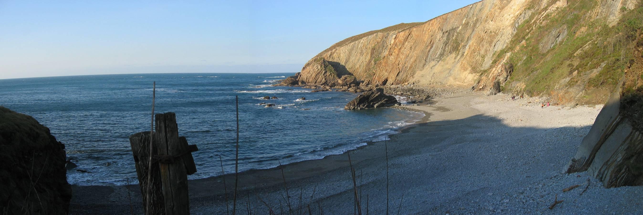 Foto playa Bozo. Playa de Bozu.