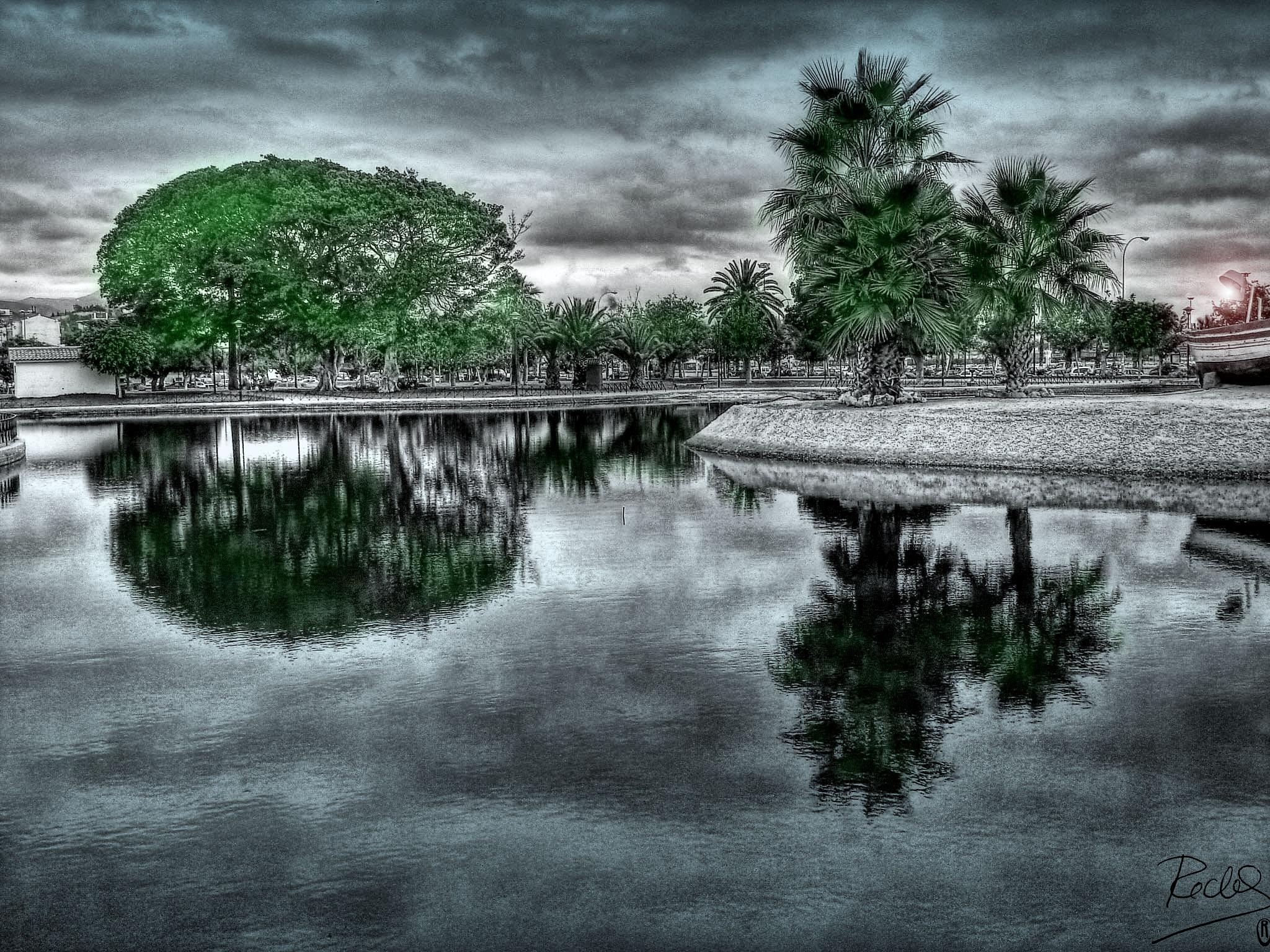 Foto playa Sacaba. El parque del Mar