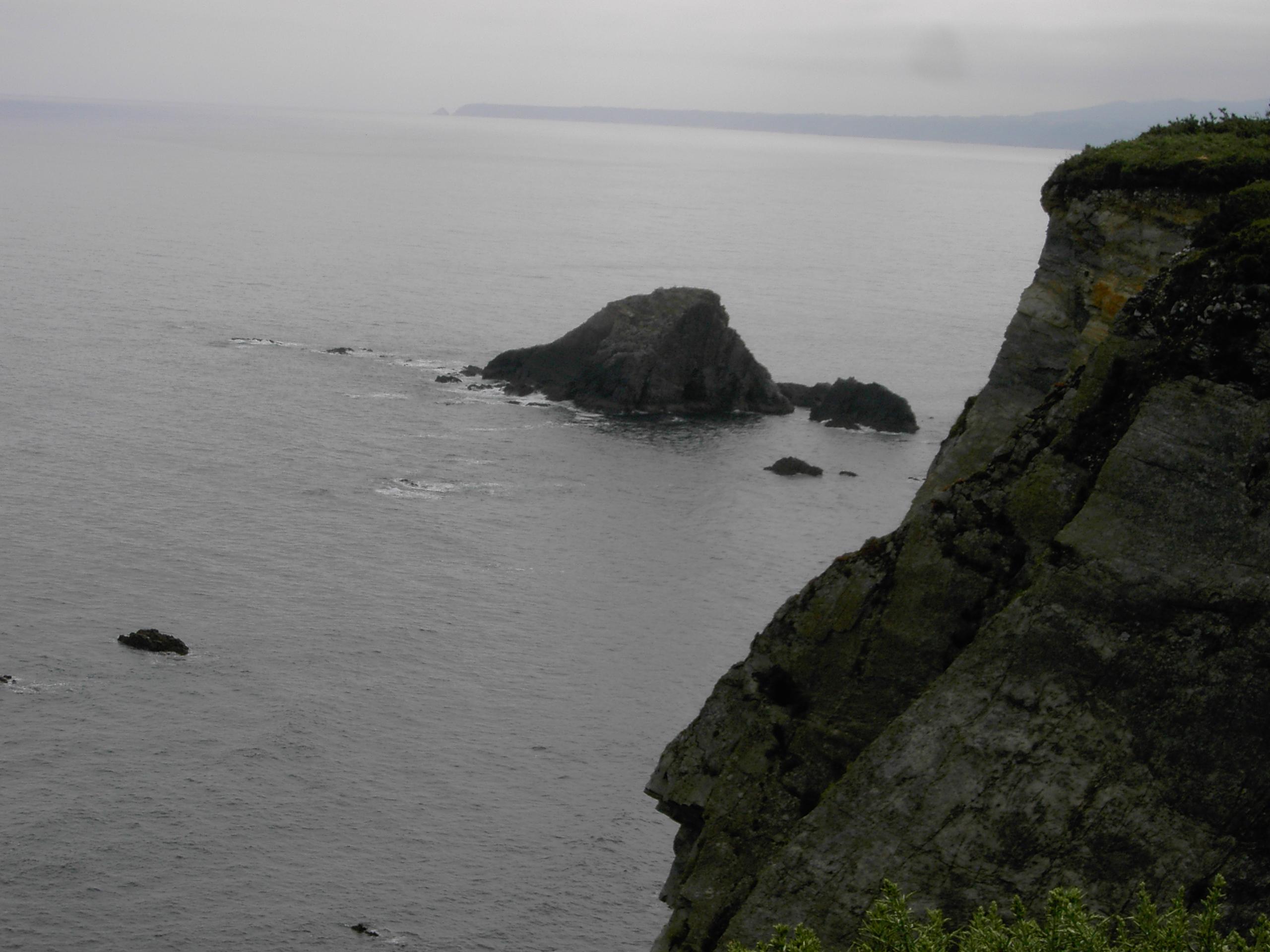 Foto playa Bozo. Vista desde Cabo Busto