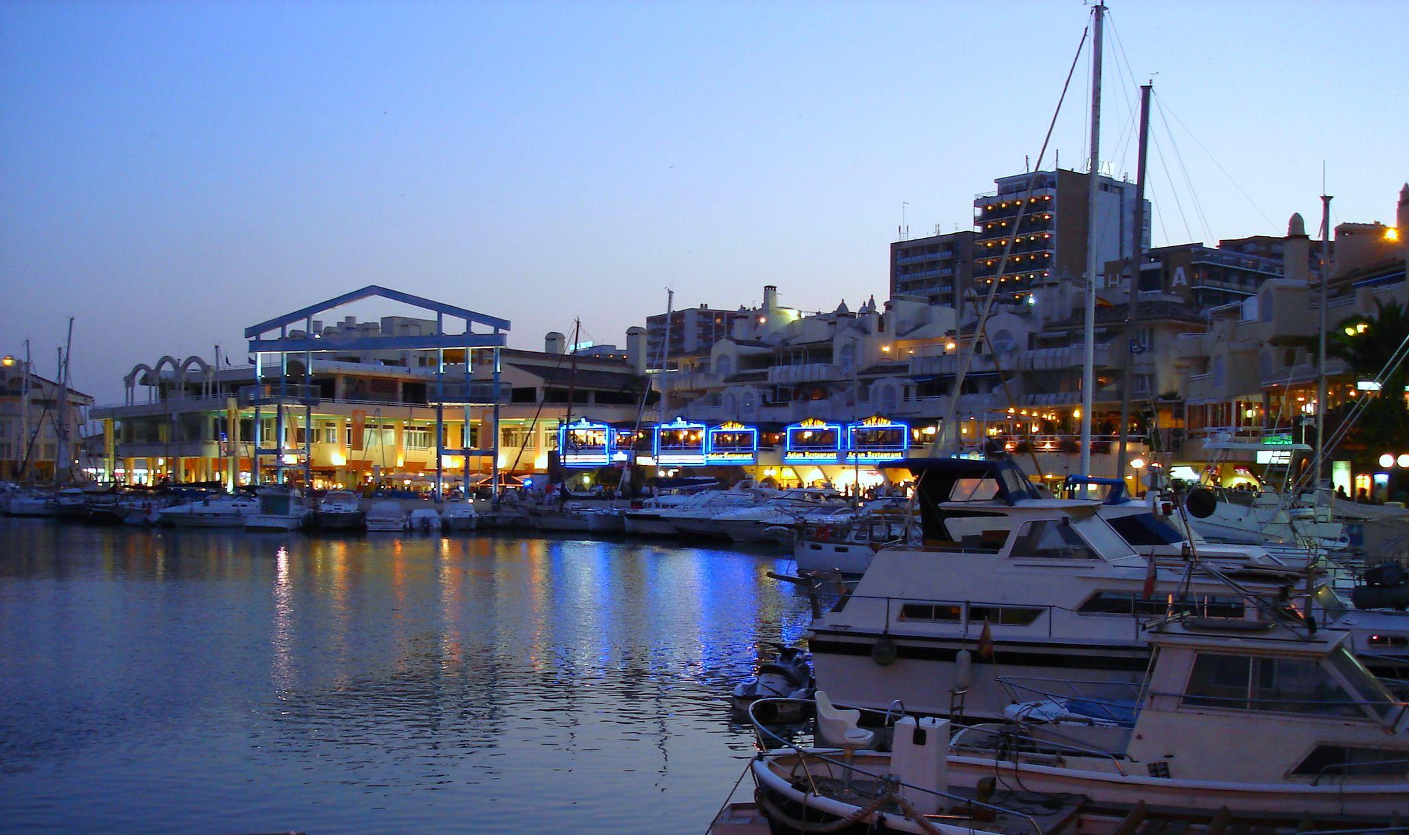 Foto playa Santa Ana. Puerto Marina