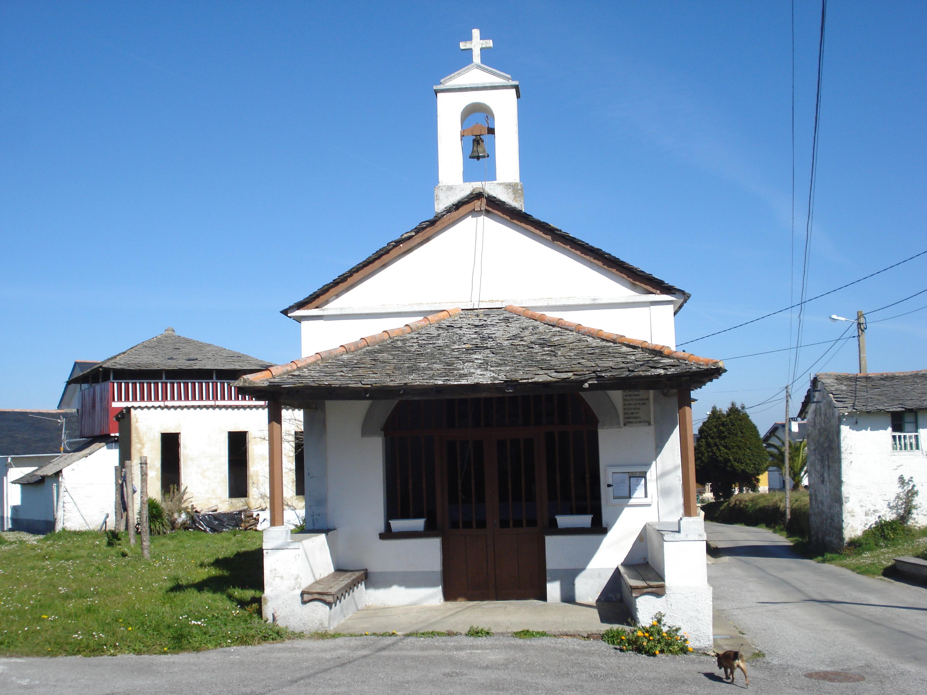 Foto playa Perceberos / La Estaca. capilla