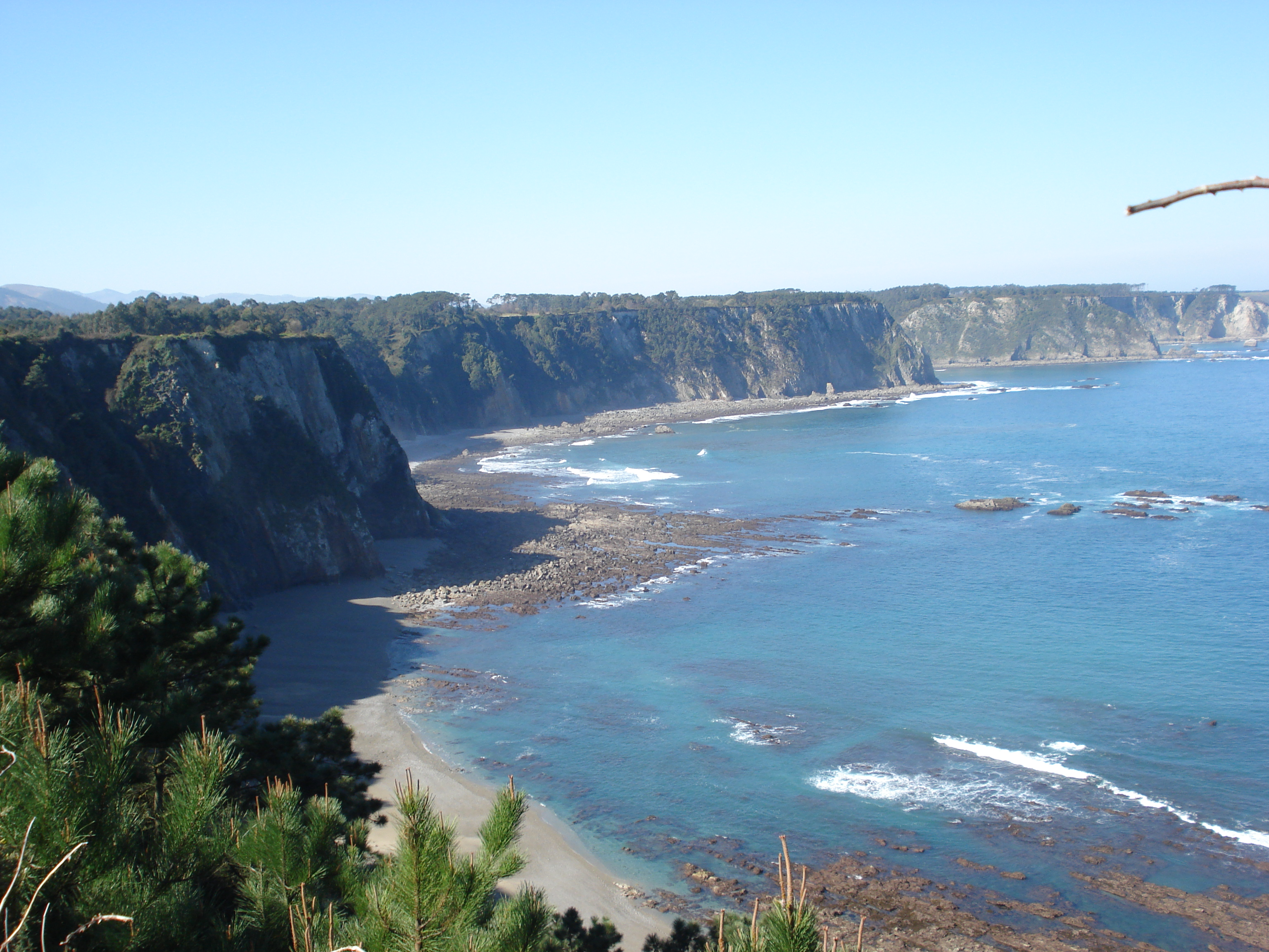 Foto playa Perceberos / La Estaca.
