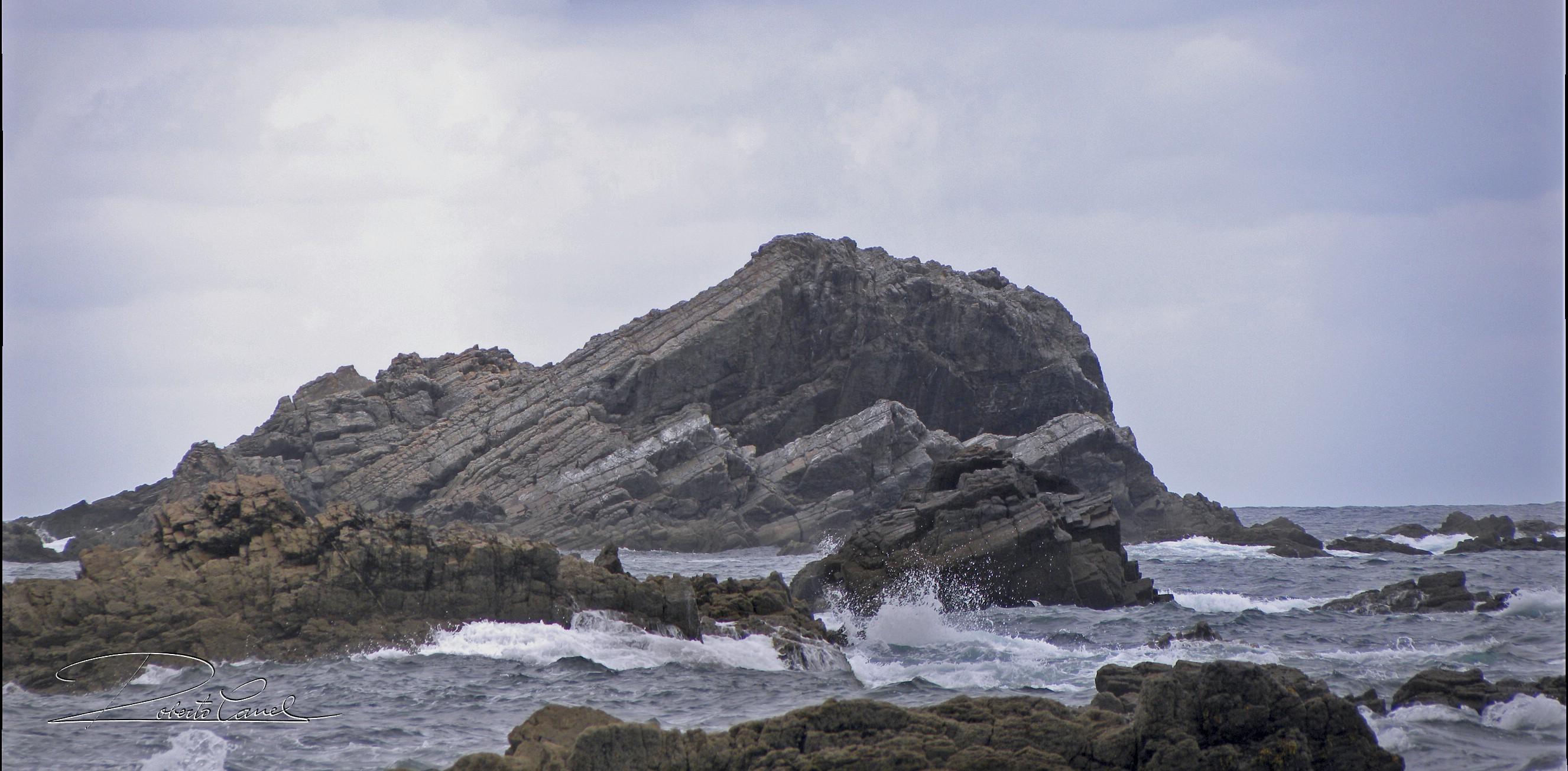 Foto playa Campiecho. La Chubar desde Villamoros
