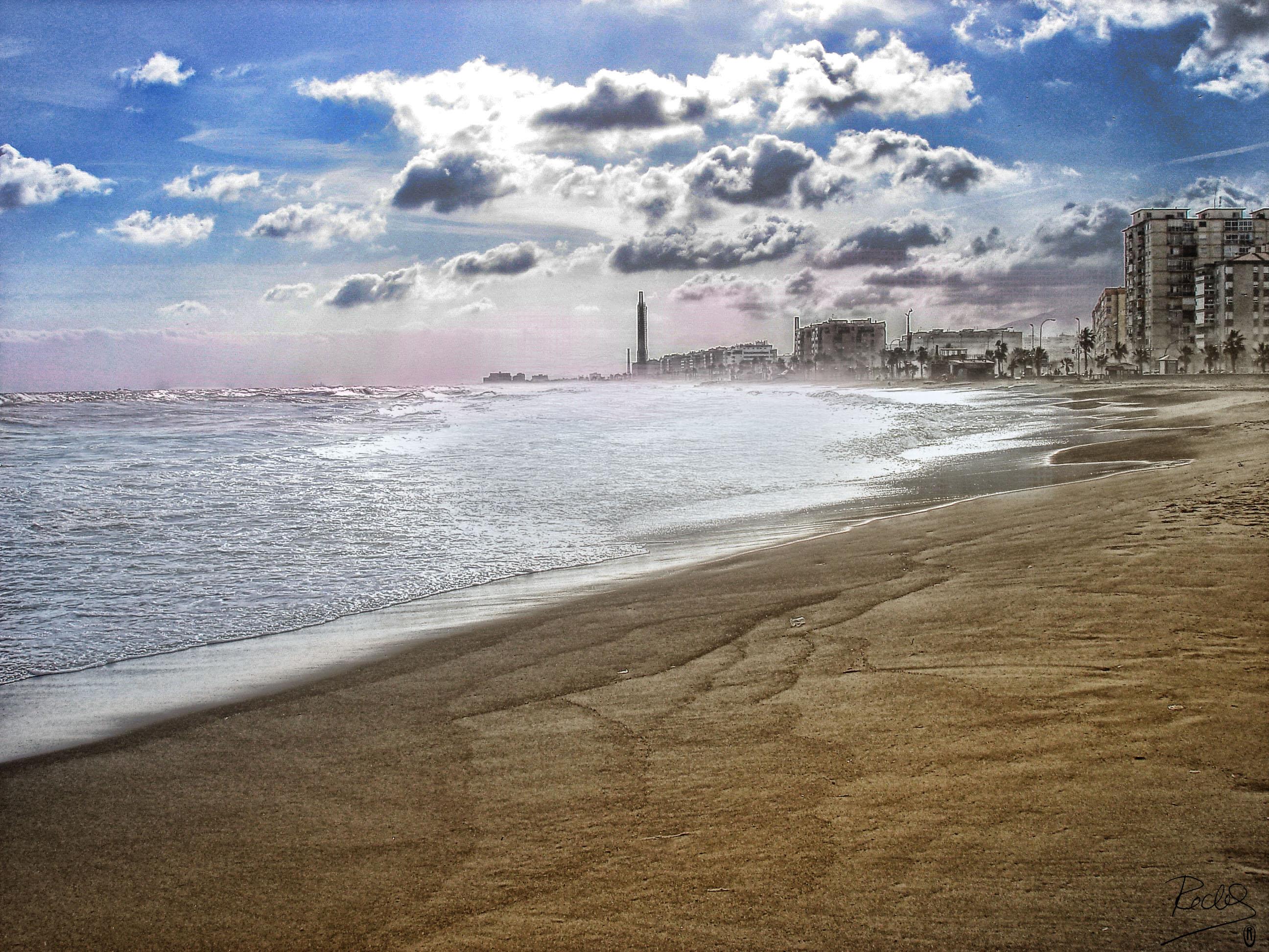 Foto playa Sacaba. Malaga