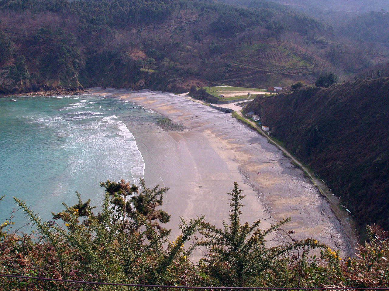 Foto playa Cadavedo / La Ribeirona. Playa de Cadavedo, Luarca, Asturias