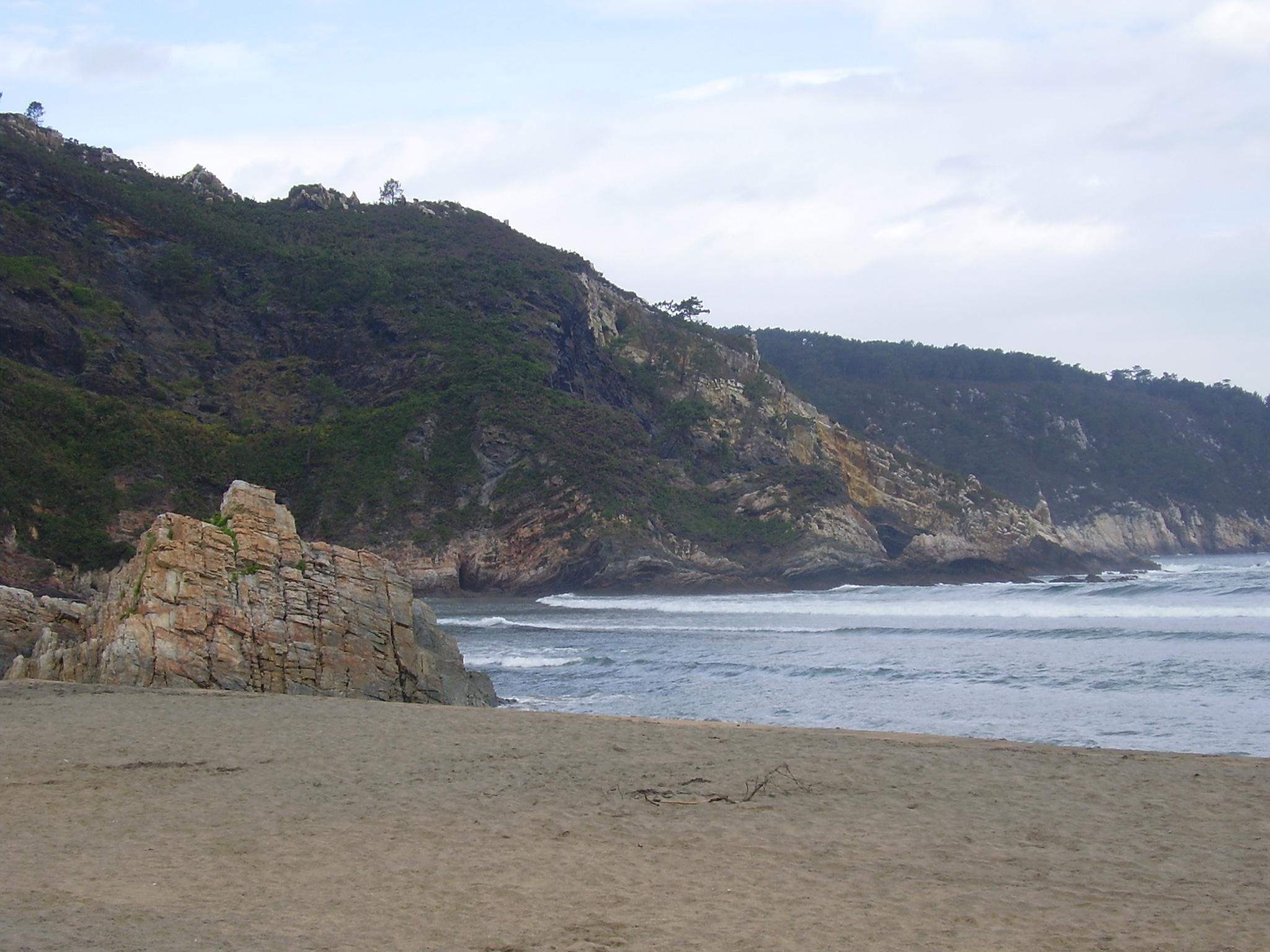 Foto playa El Castro / Caldeirina. Cala de OTUR