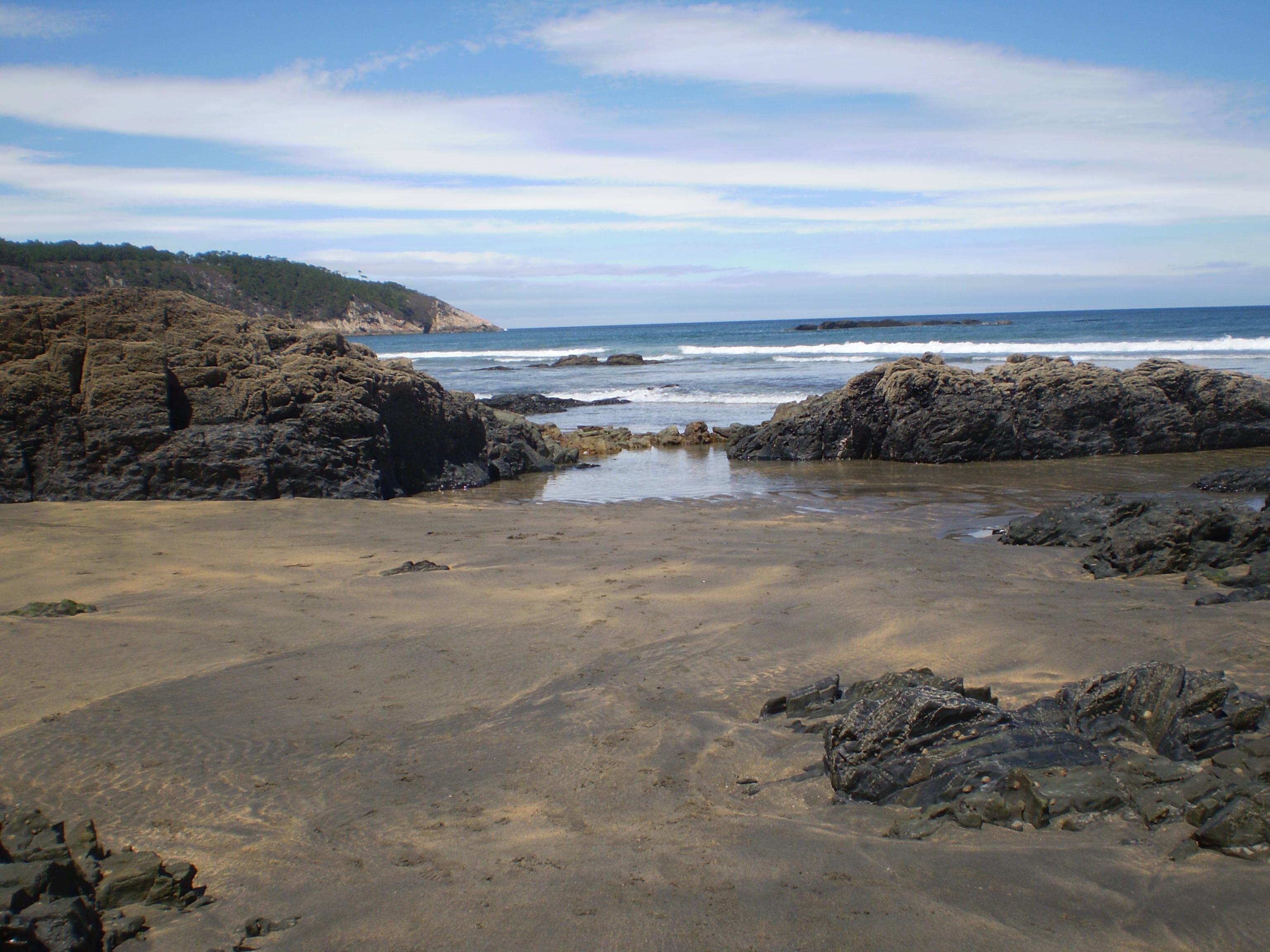 Foto playa El Castro / Caldeirina. Playa De Otur