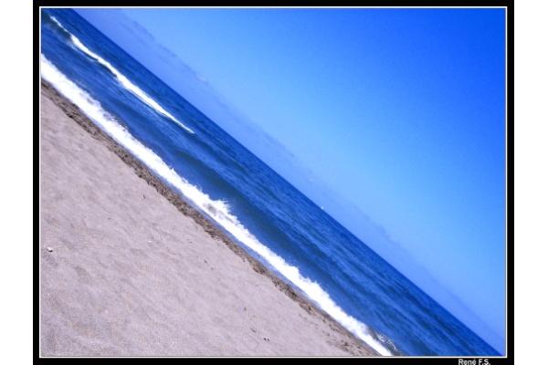 Foto playa El Castro / Caldeirina. Otur Azul