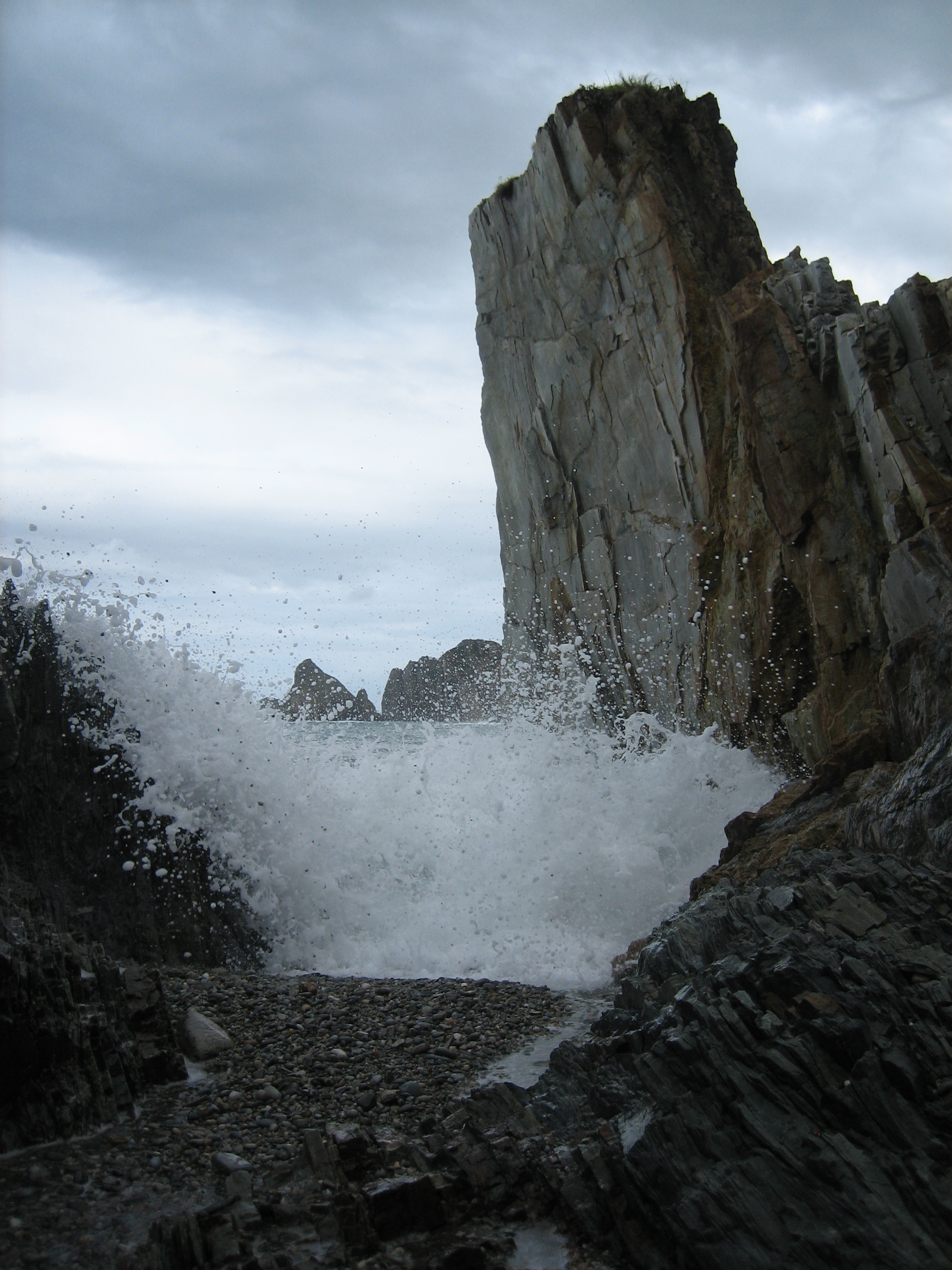 Foto playa Ribera del Molín. Monolito II