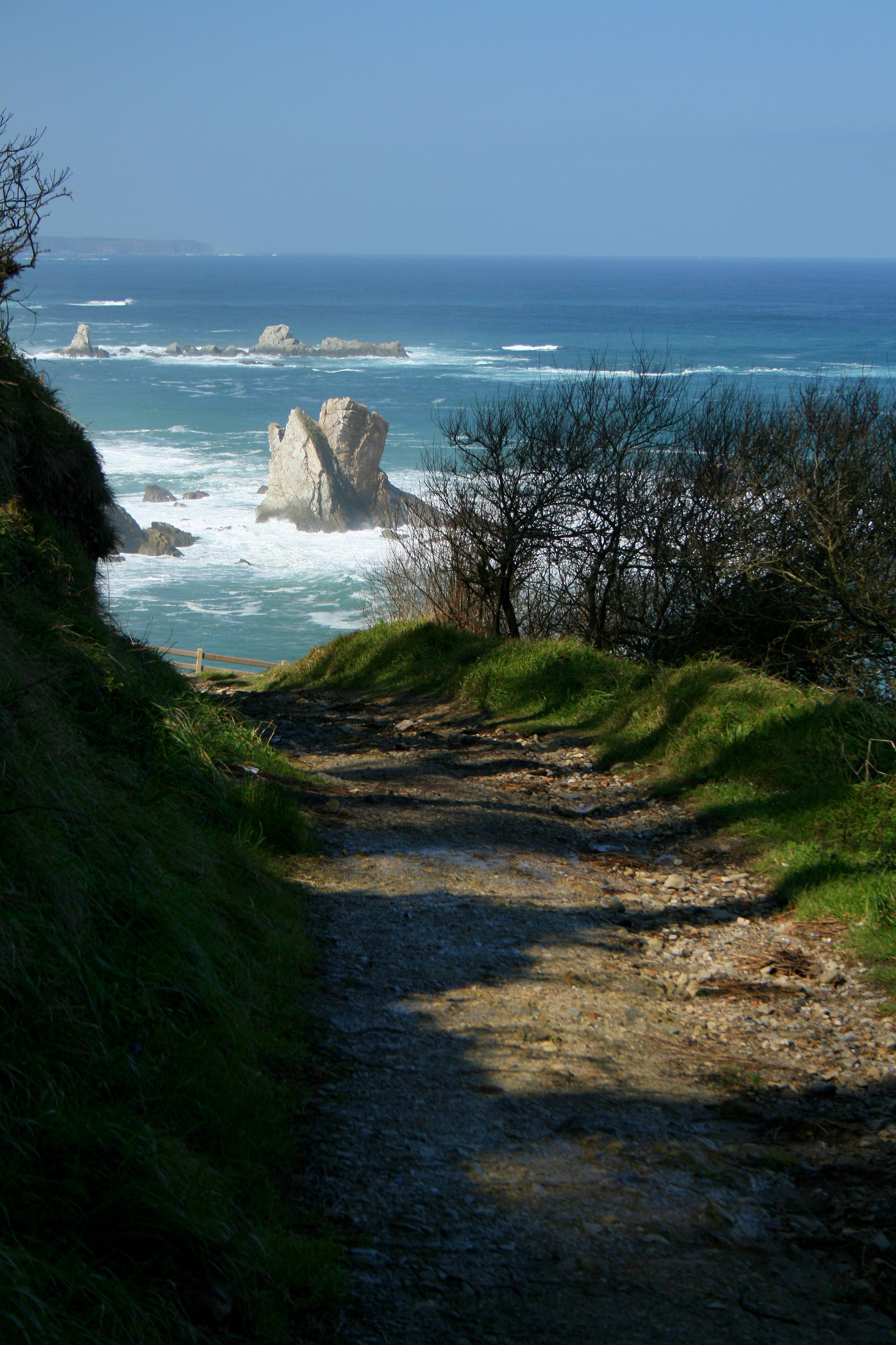 Foto playa El Riego. Bonito final del camino