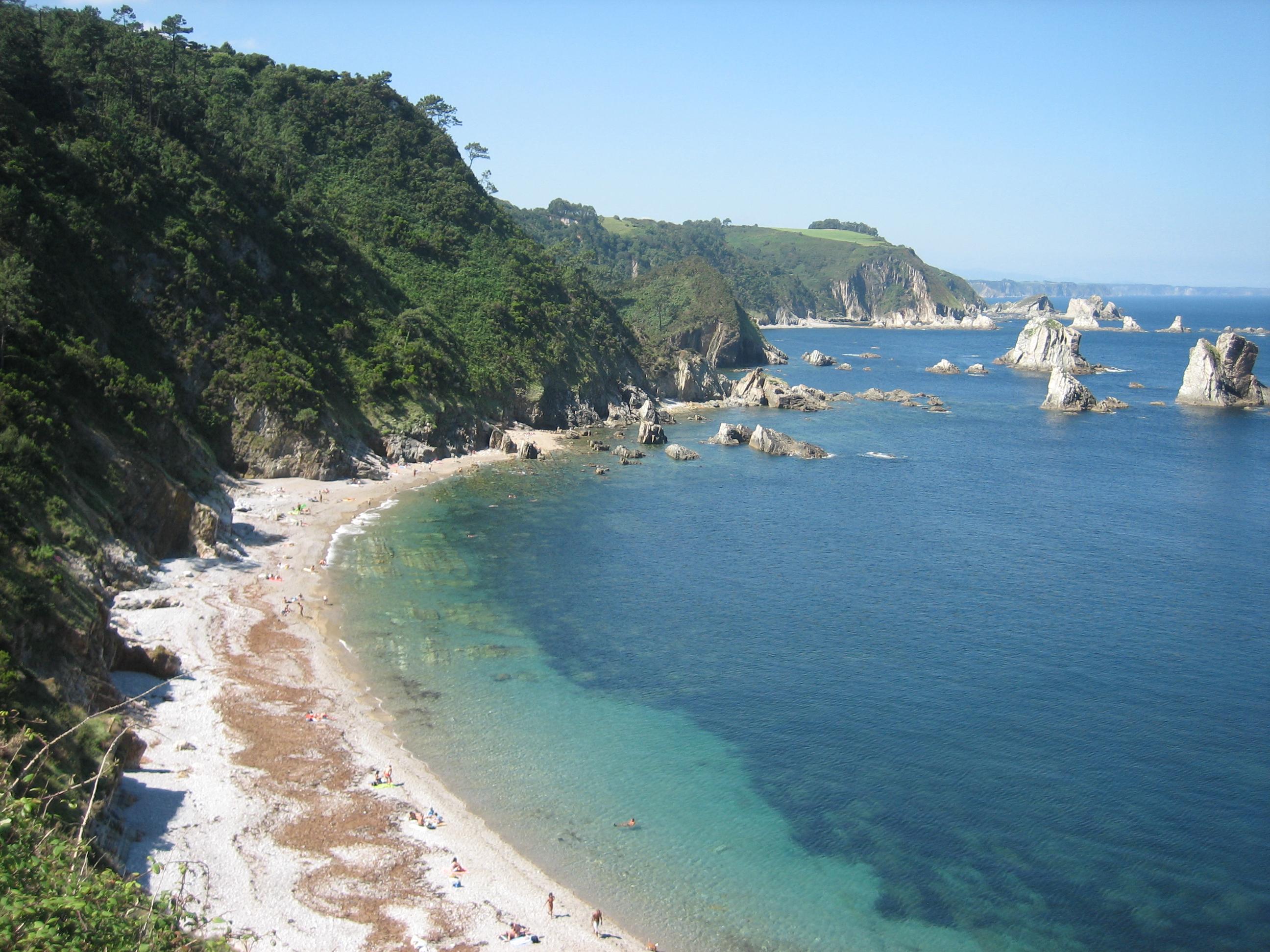 Foto playa Salencia. playa del silencio