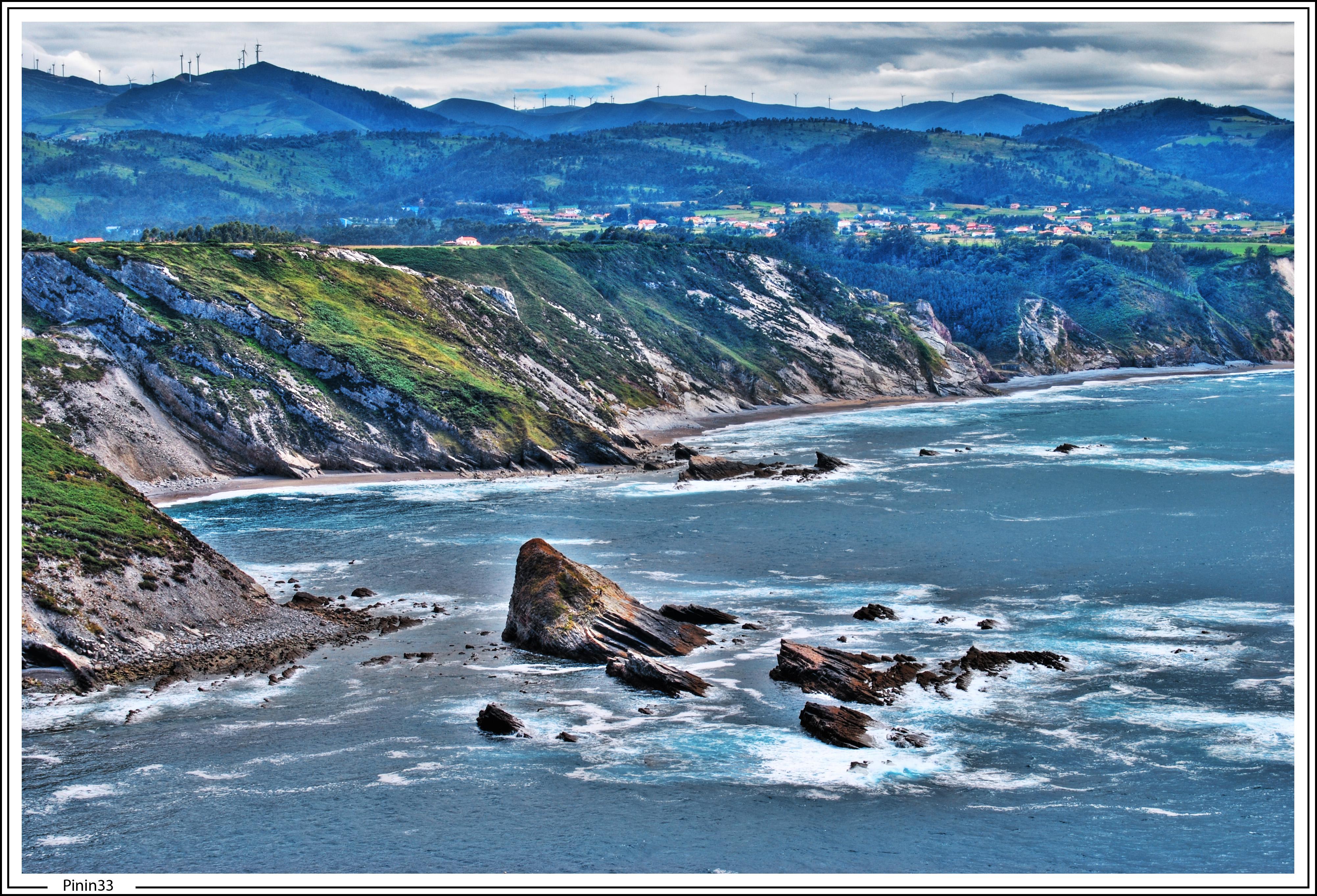 Foto playa Portiella / Muriello. Playas y Acantilados