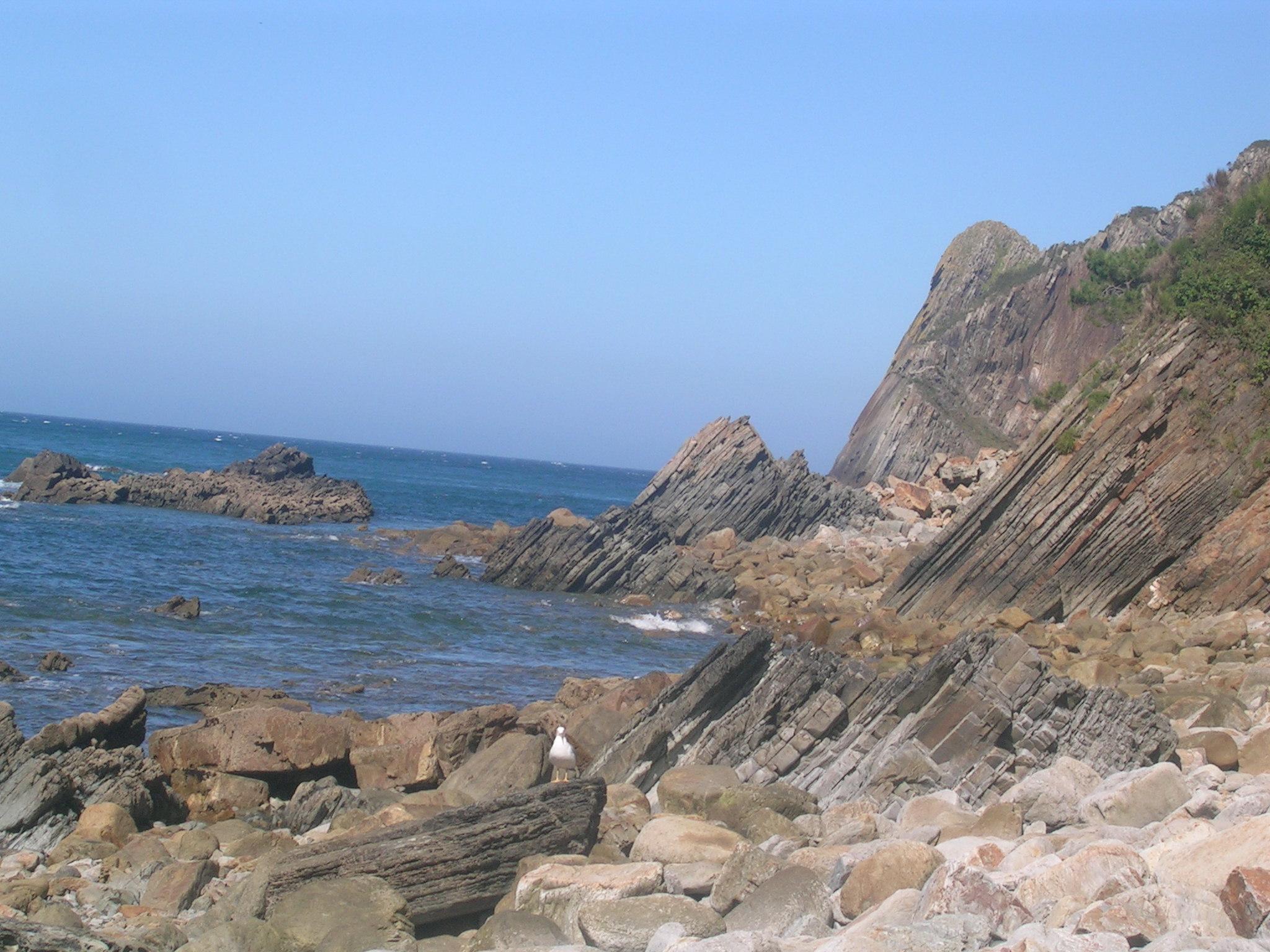 Foto playa Oleiros.