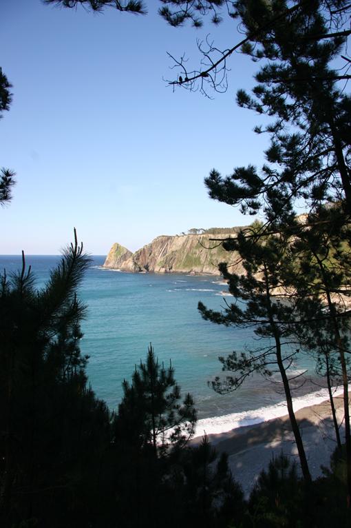 Foto playa Oleiros. Playa de Oleiros (Cudillero)