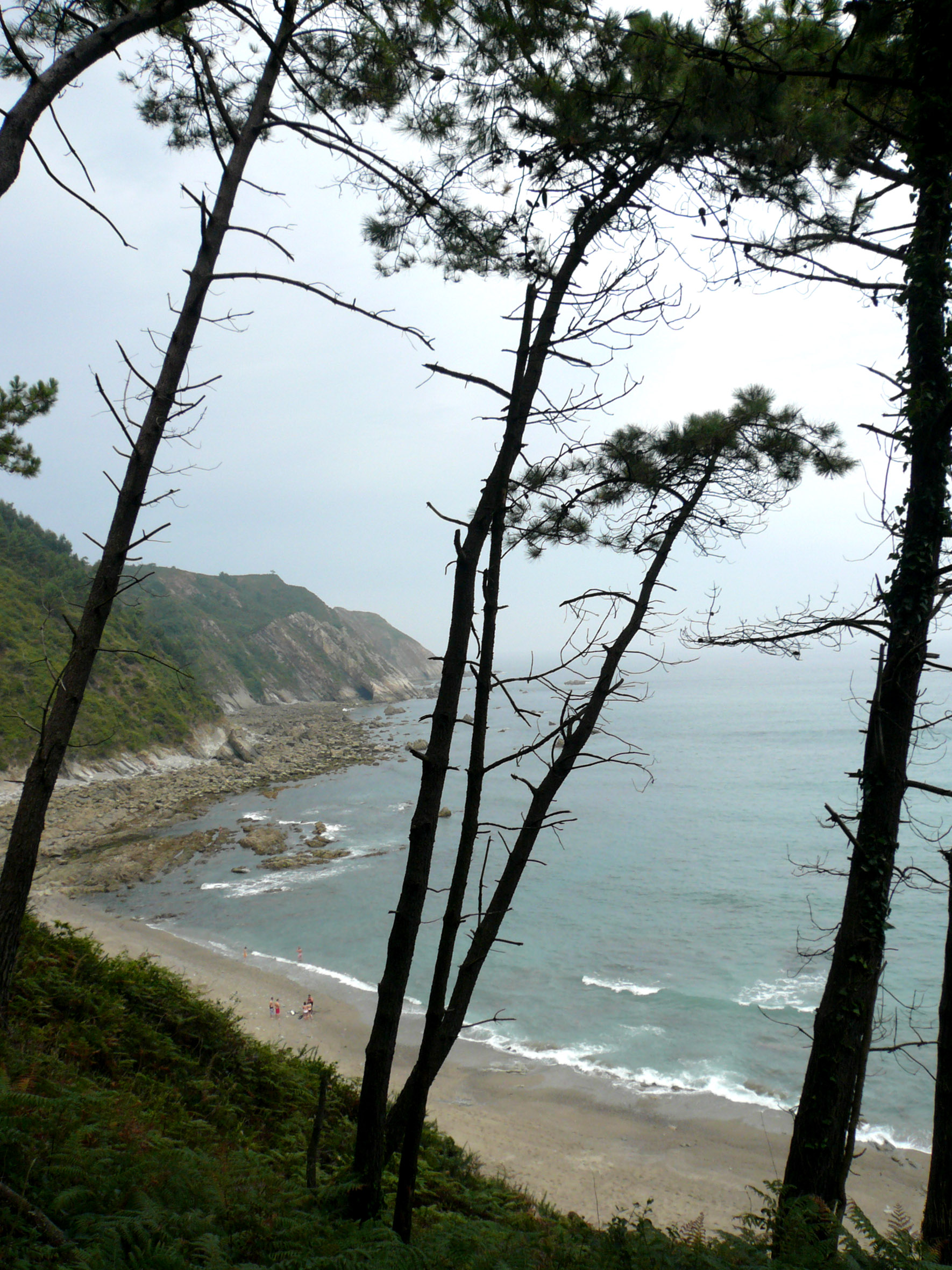 Foto playa Oleiros. Playa de Oleiros