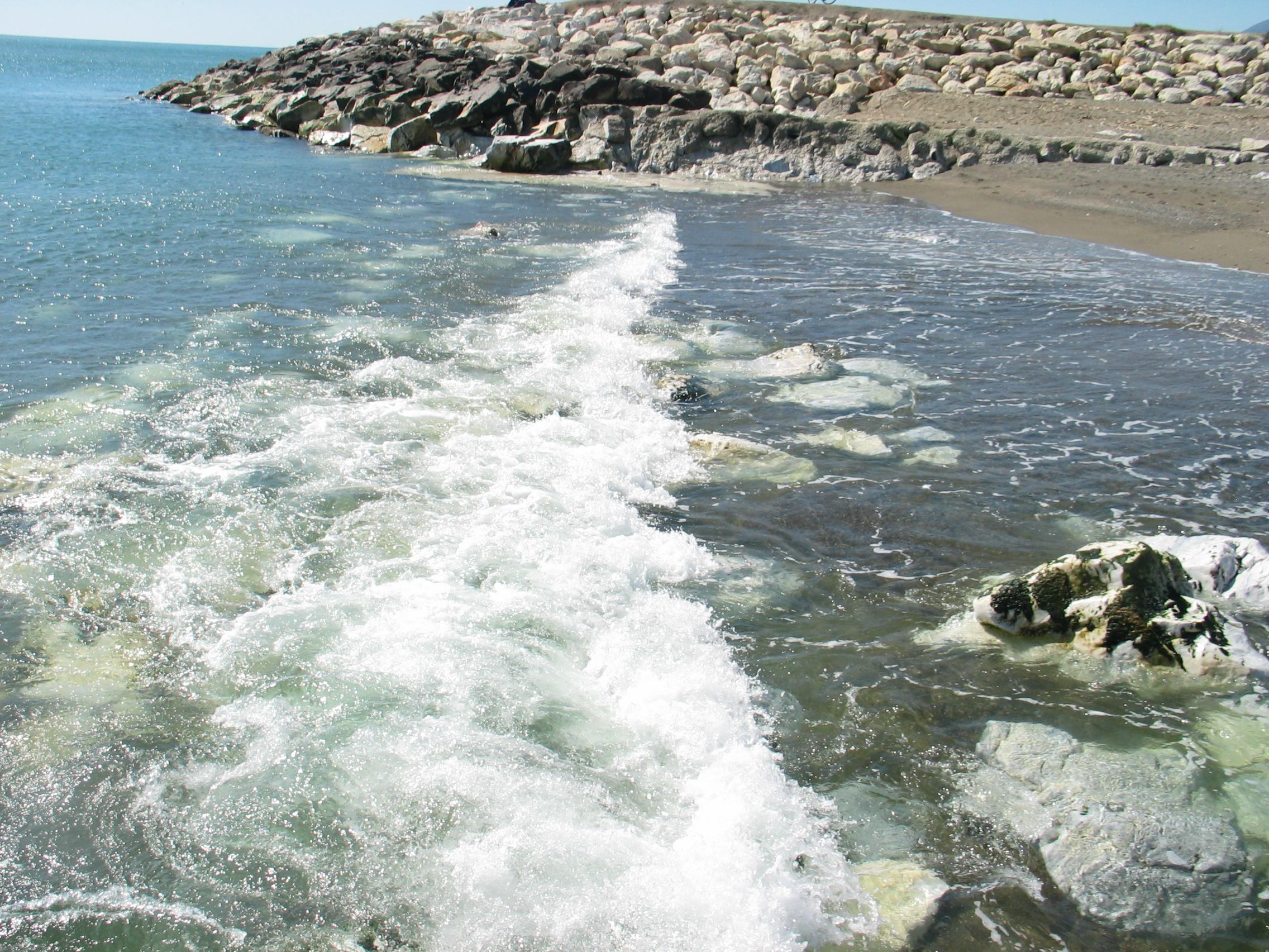 Foto playa Guadalhorce. Desembocadura del Guadalhorce