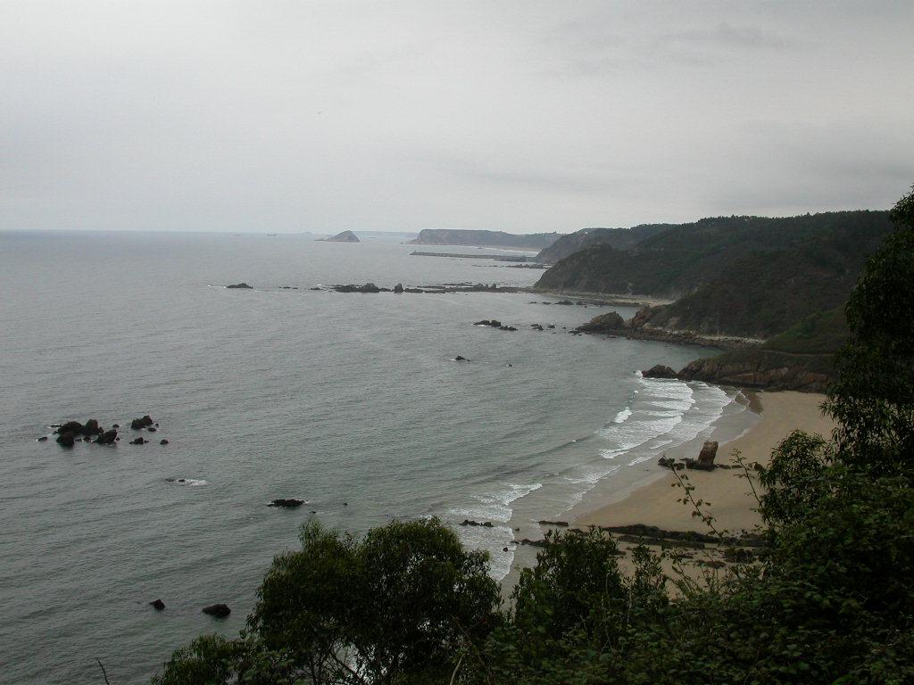 Foto playa Las Rubias. Playas de Asturias
