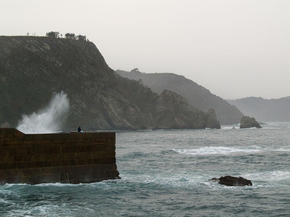Foto playa La Corvera. Cudillero