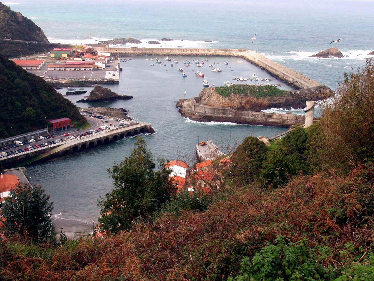 Foto playa La Corvera. Cudillero, Asturias, España