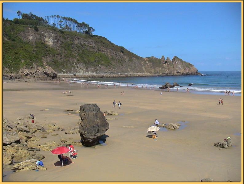 Foto playa Xilo / Veneiro. Playa de Aguilar -Muros de Nalón