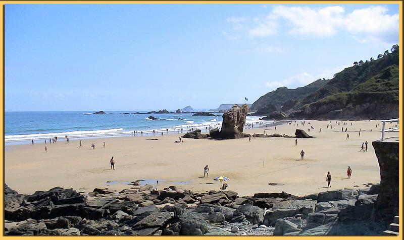 Foto playa Xilo / Veneiro. Playa de Aguilar - Muros de Nalón