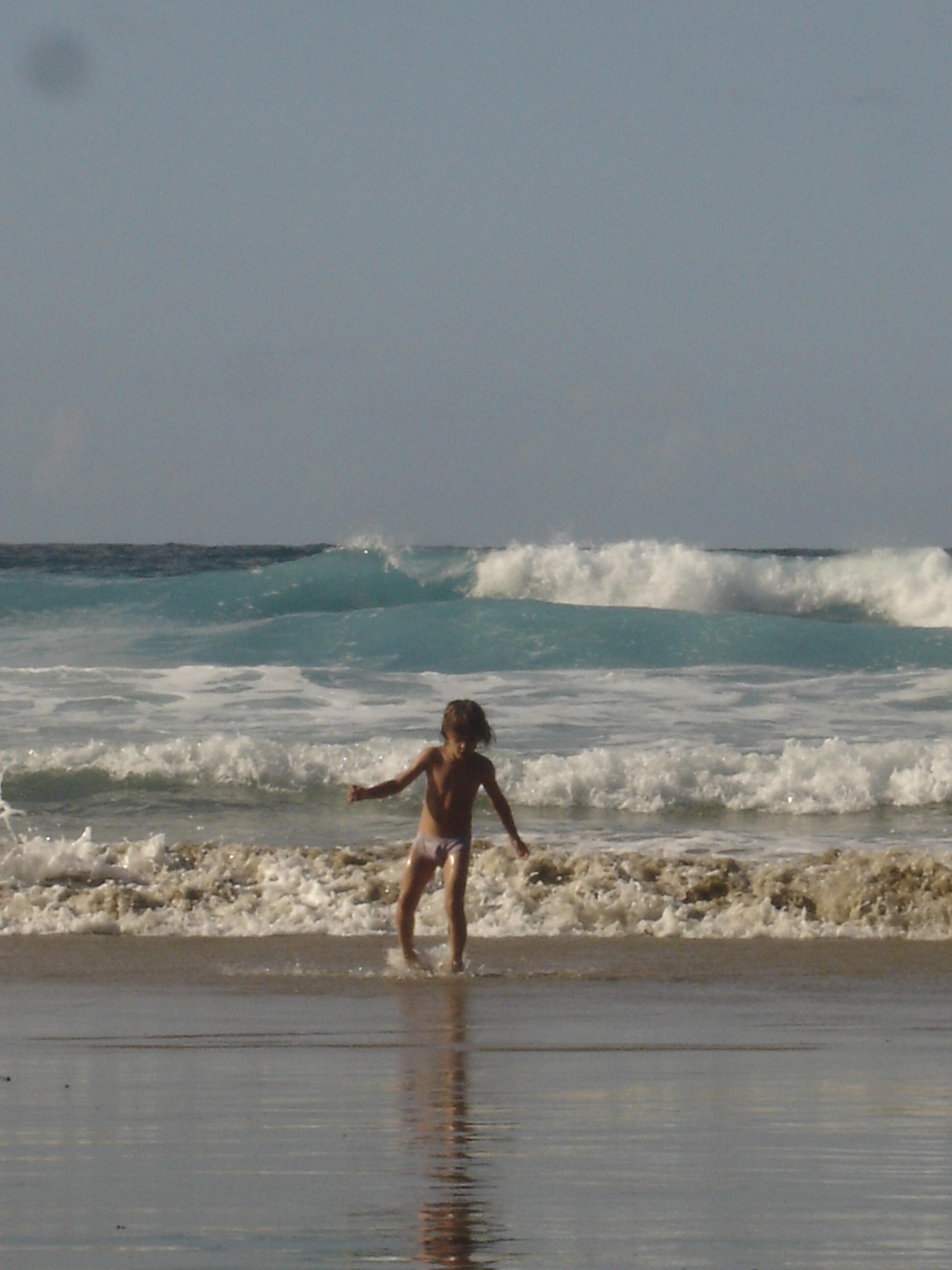 Foto playa Xan-Xun. PLAYA DEL AGUILAR 2 JUL