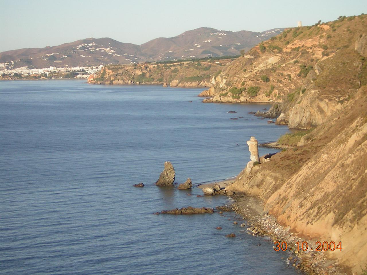 Foto playa Cala de la Torre del Pino. Entre La Herradura y Nerja