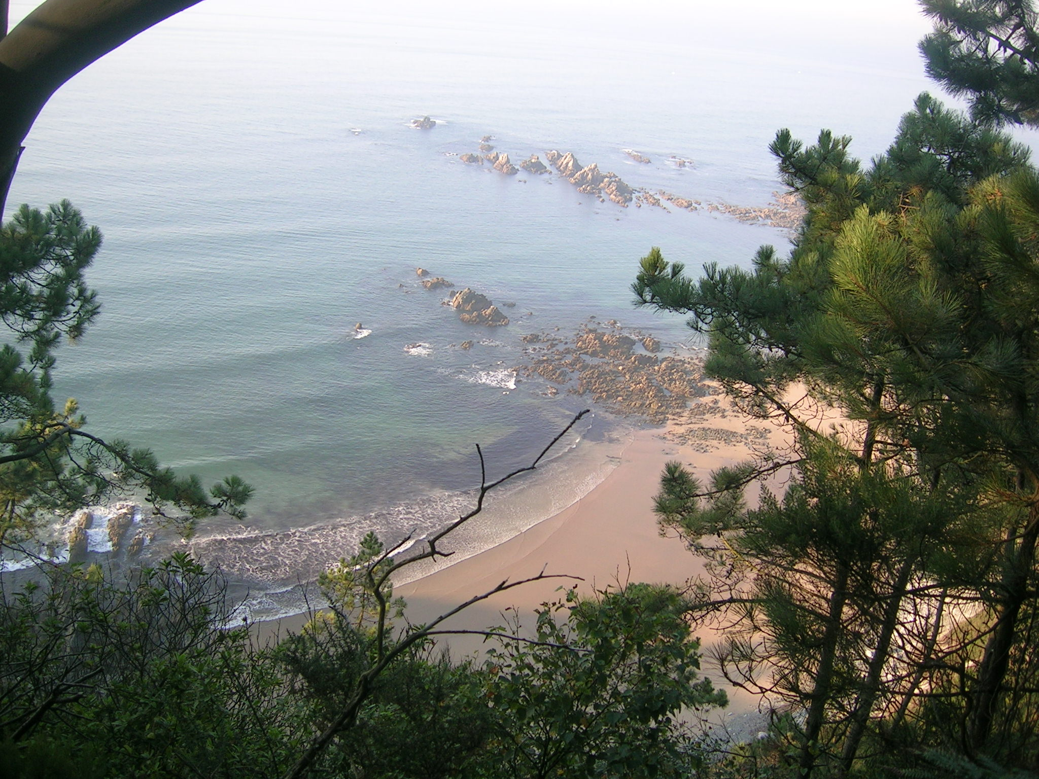 Foto playa Cazonera. RutaXilo  costa
