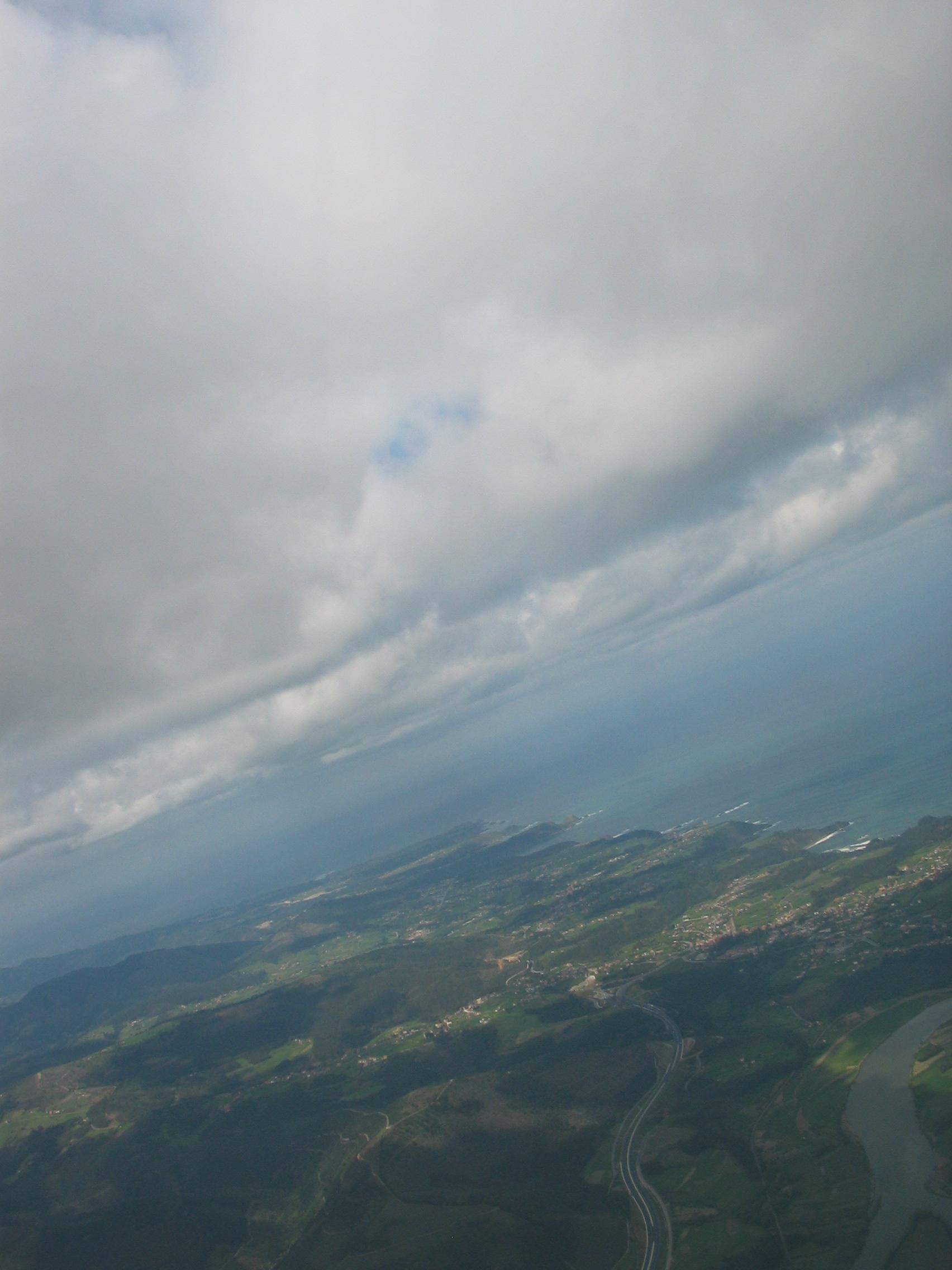 Foto playa La Atalaya. Las costas de Asturias desde el aire
