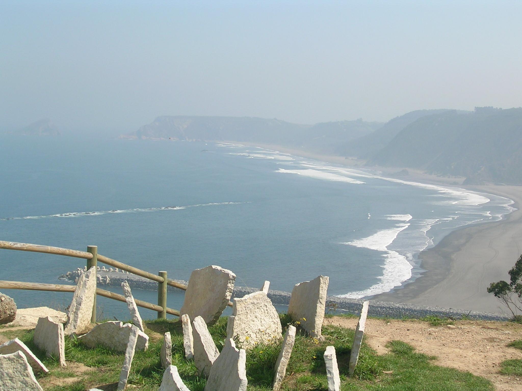Foto playa El Garruncho. RutaXilo lejania