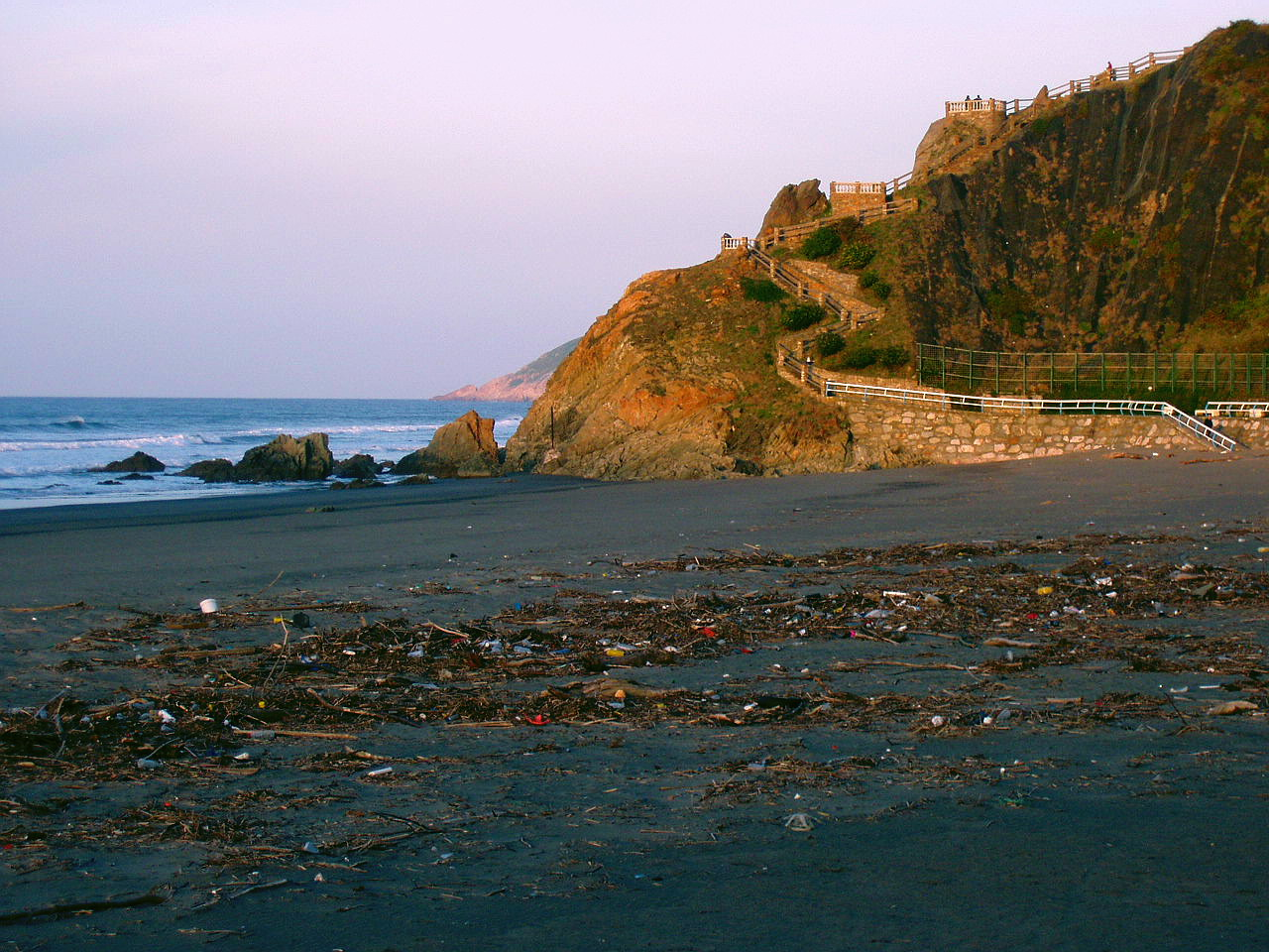 Foto playa Los Quebrantos. Playa de La Arena, Asturias