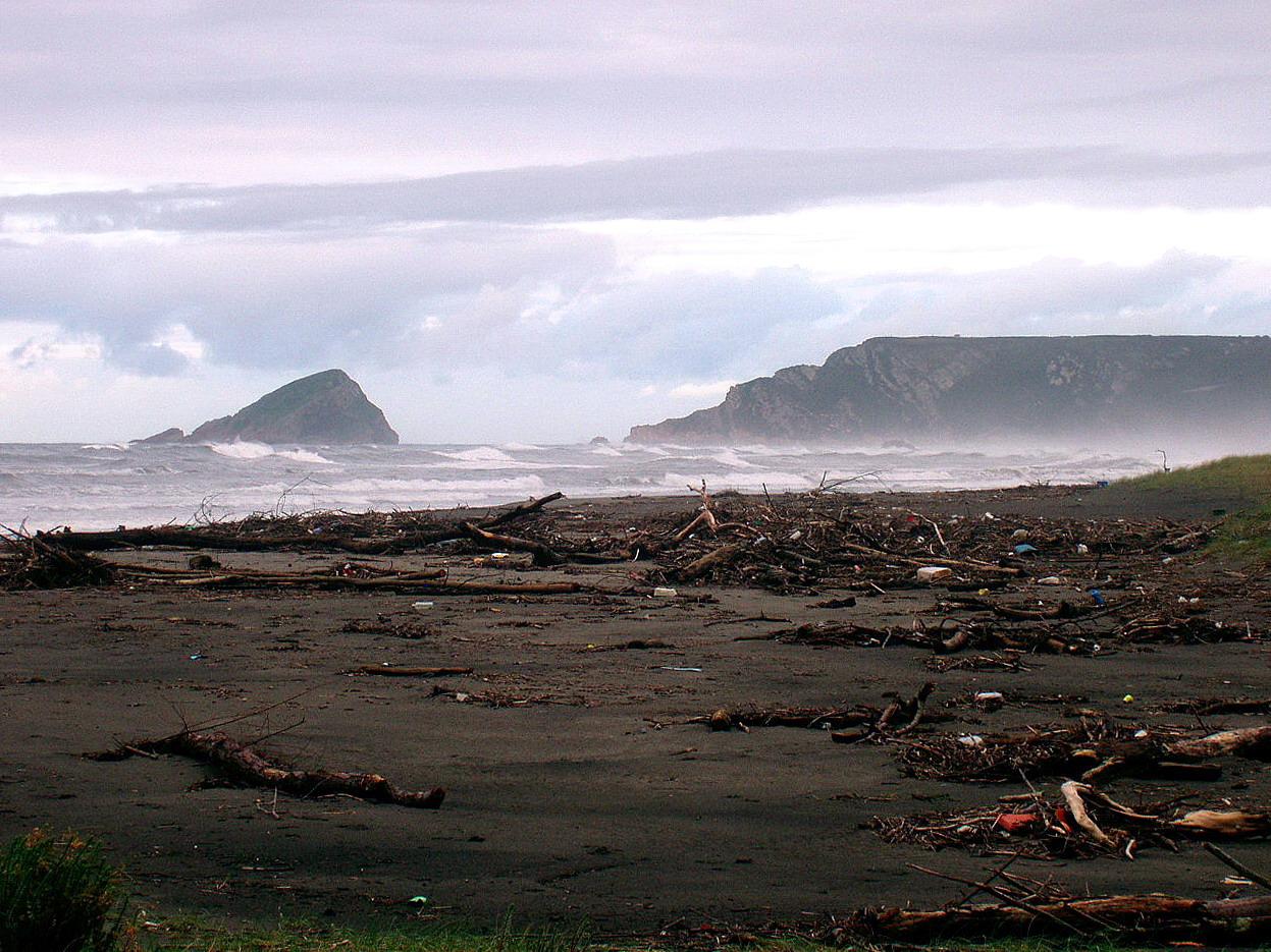 Foto playa Los Quebrantos. Playa de los Quebrantos, La Arena, Asturias