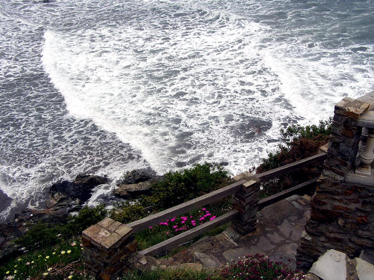 Foto playa Requexinos. Mirador del Espiritu Santo, La Arena, Asturias