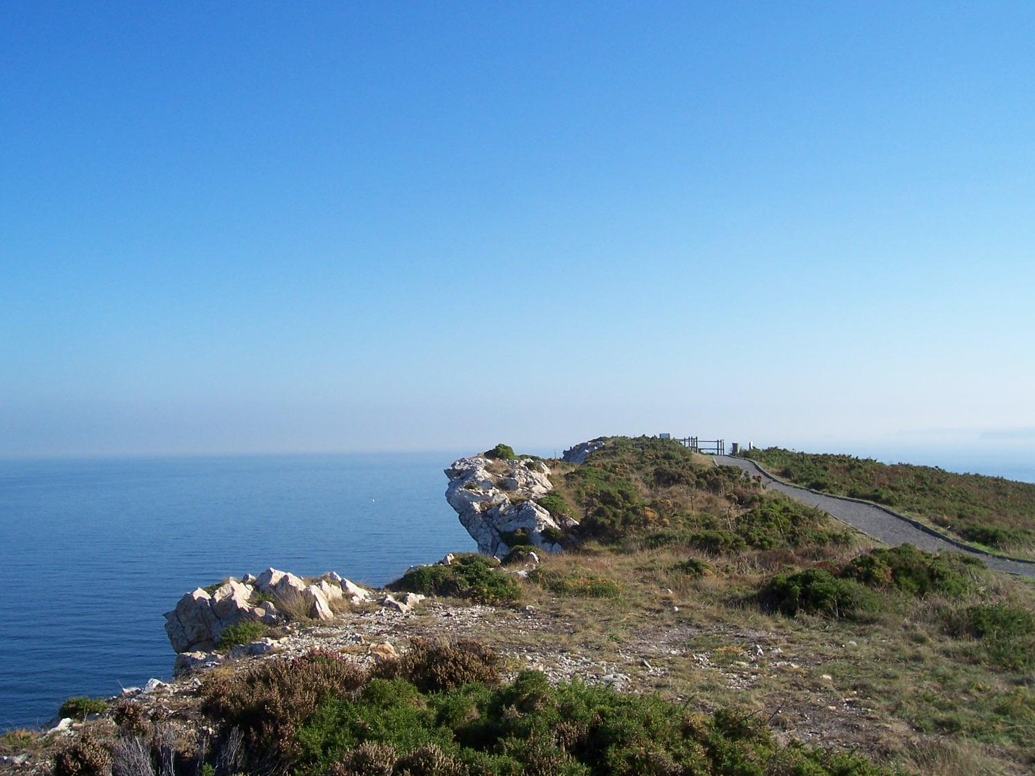 Foto playa Munielles. Senda Norte, rasa costera de Bayas. CASTRILLON.