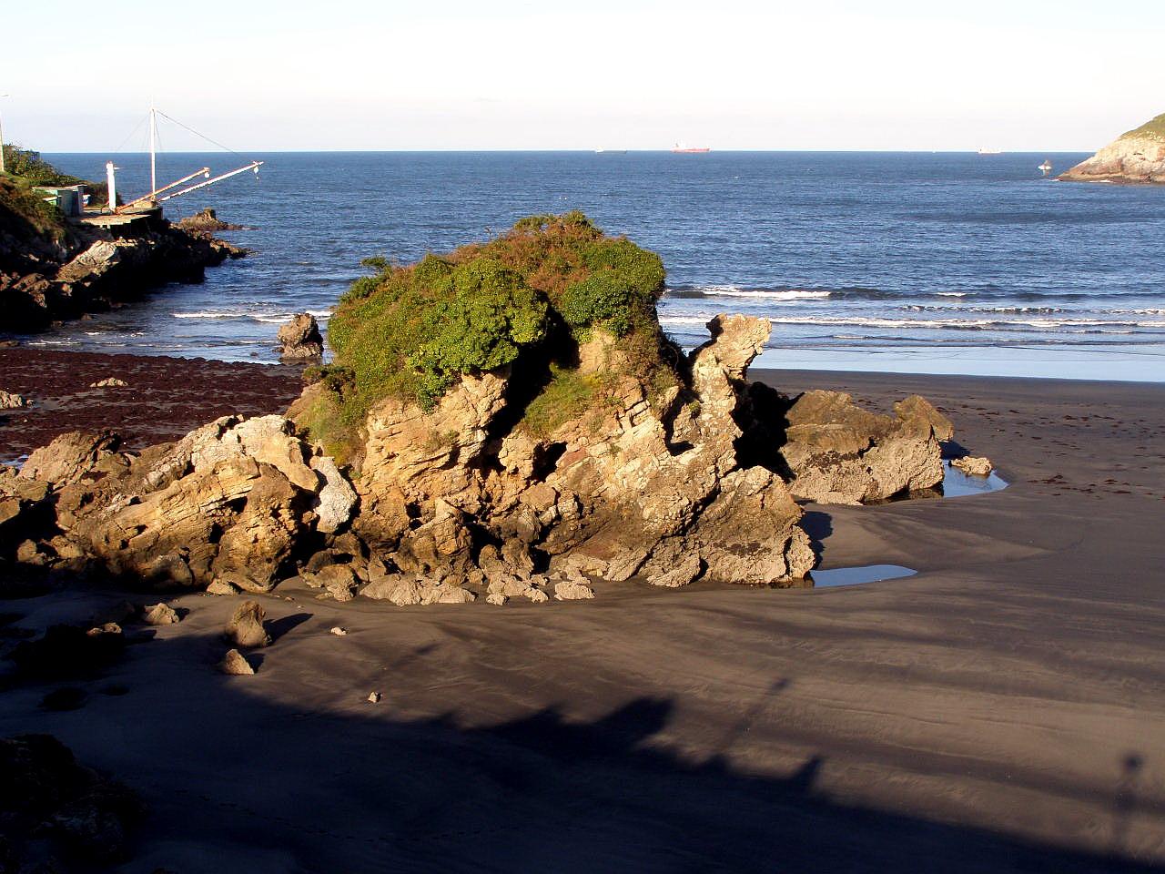 Foto playa Bahínas. Playa de Santa Maria del Mar, Asturias