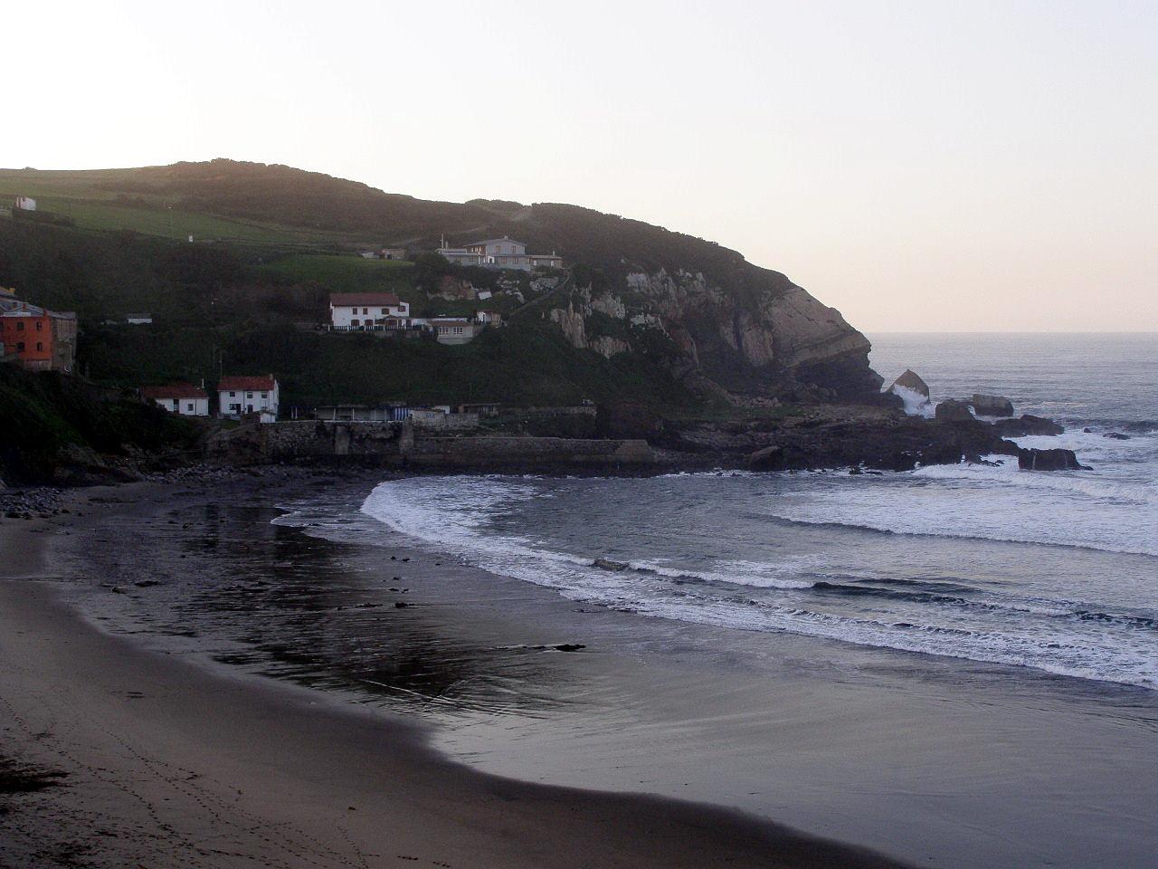 Foto playa Arnao. Playa de Arnao, Castrillon, Asturias