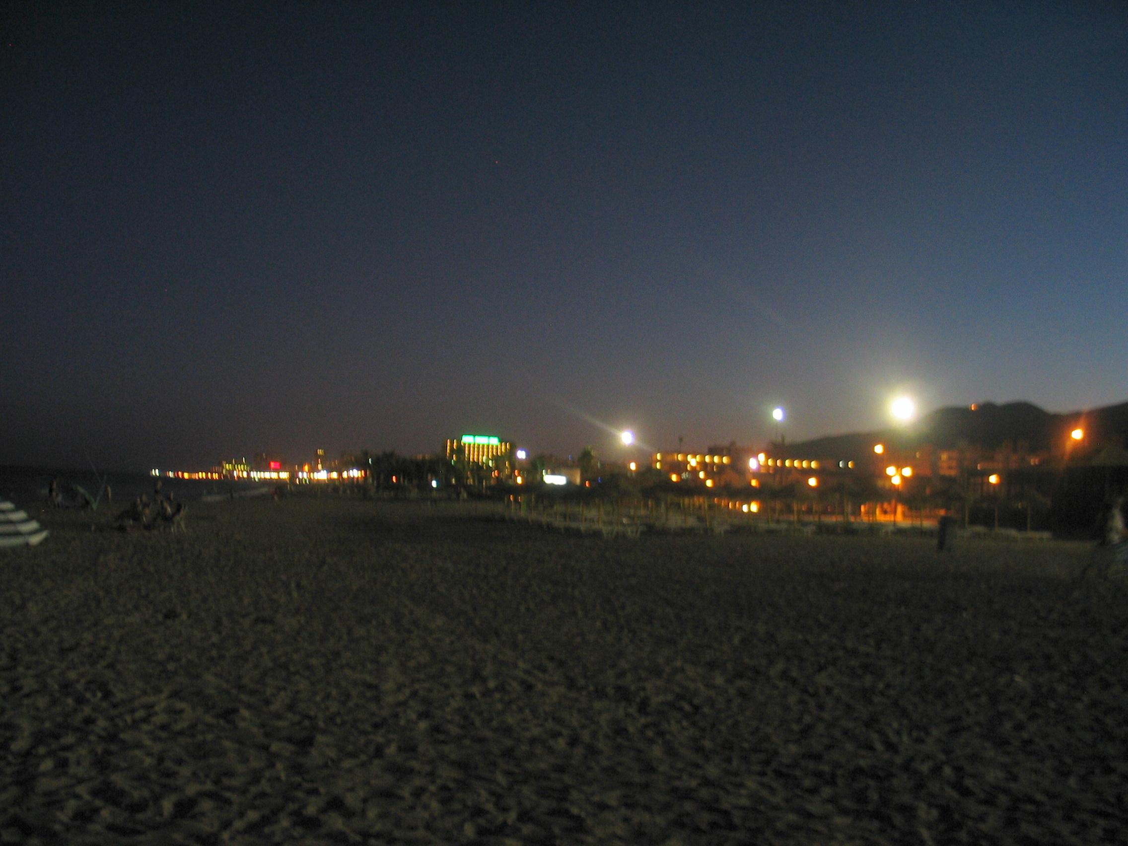 Foto playa Playa del Campo de Golf / Campo de Golf San Julián. Cae la noche