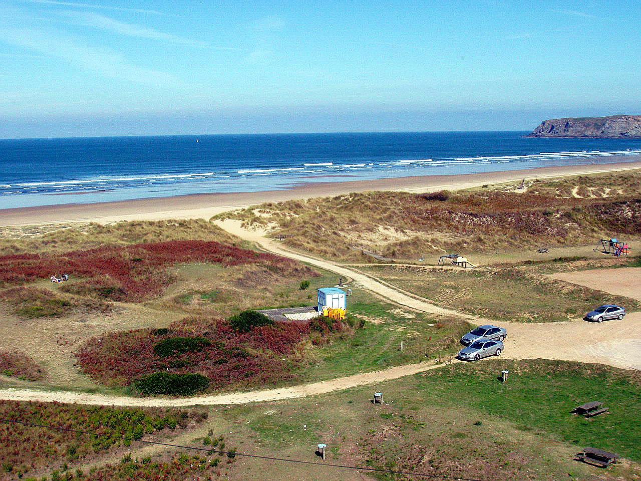 Foto playa San Juan / El Espartal / San Juan de Nieva. Playa de Xagó, Gozón, Asturias